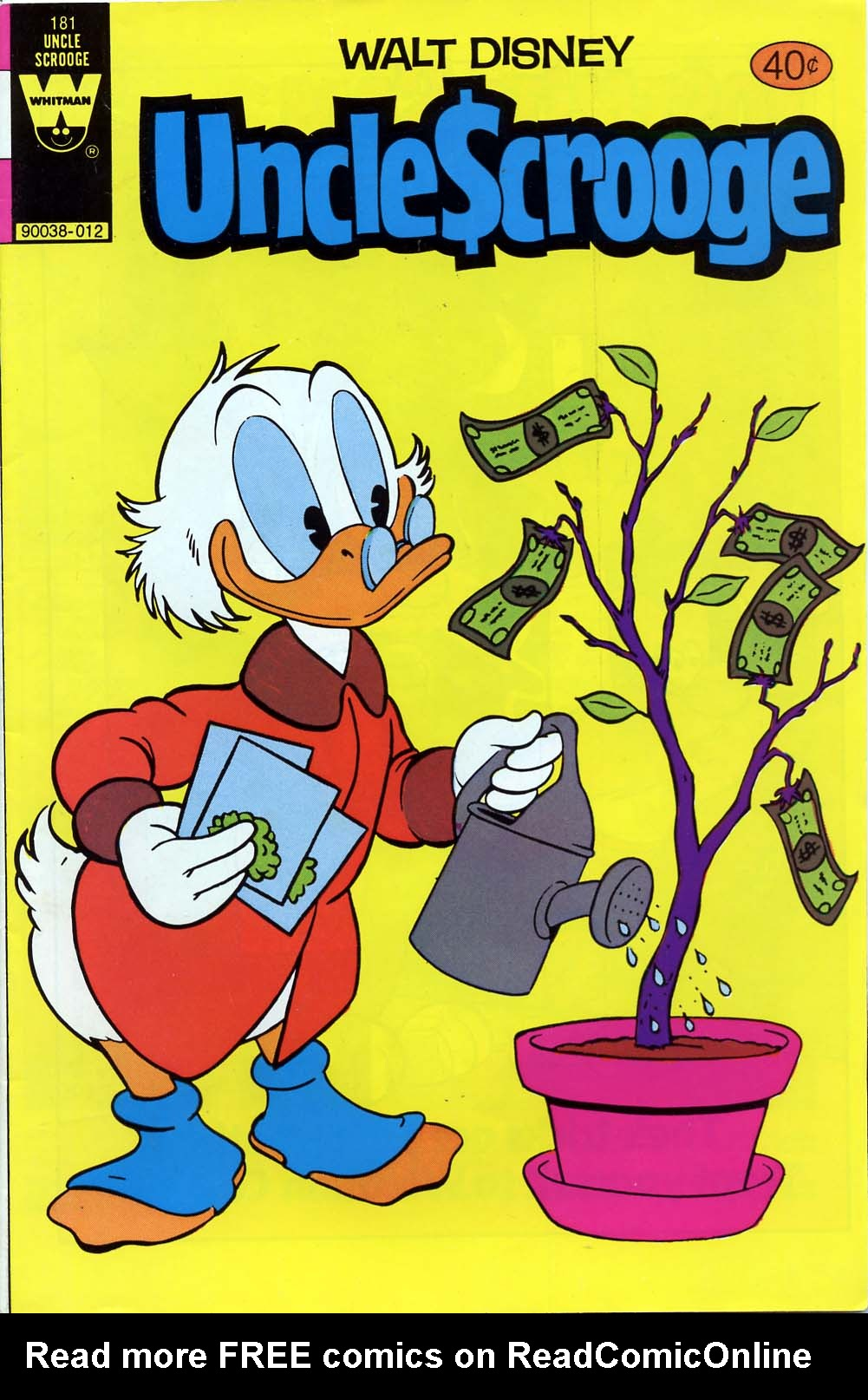 Read online Uncle Scrooge (1953) comic -  Issue #181 - 1