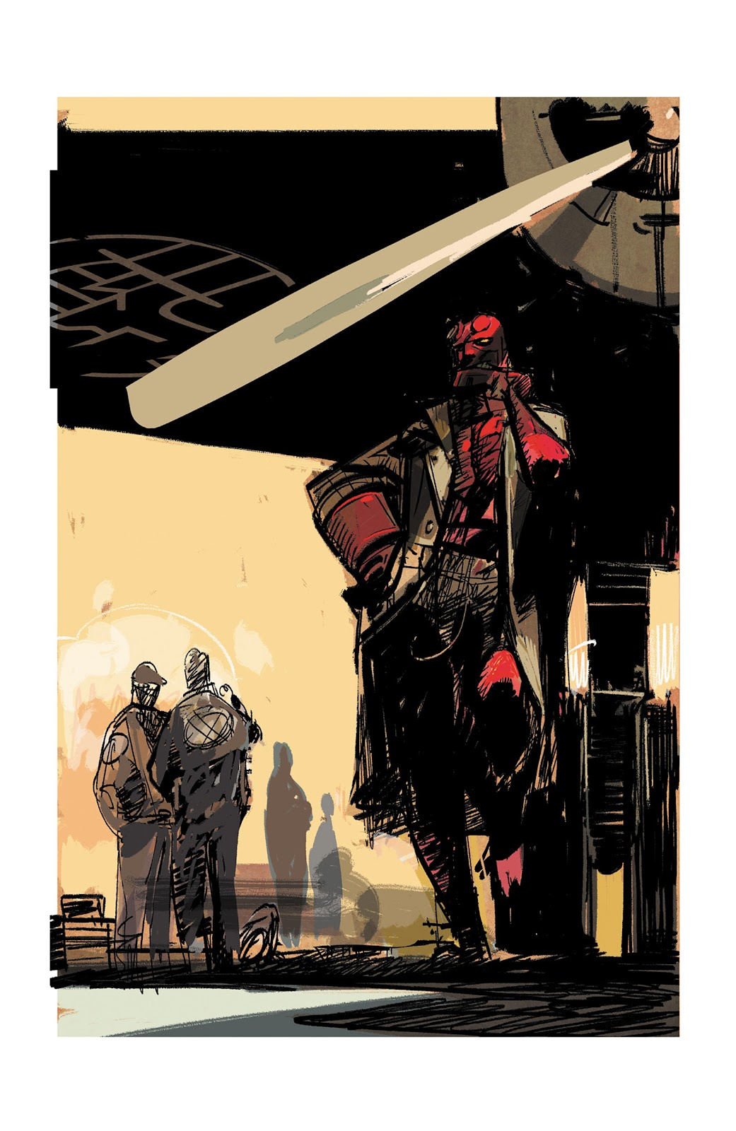 Read online Hellboy and the B.P.R.D. comic -  Issue # _TPB - 128