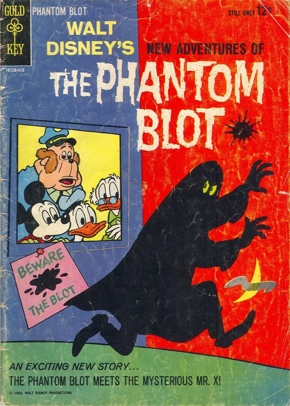 Walt Disneys The Phantom Blot 1 Page 1