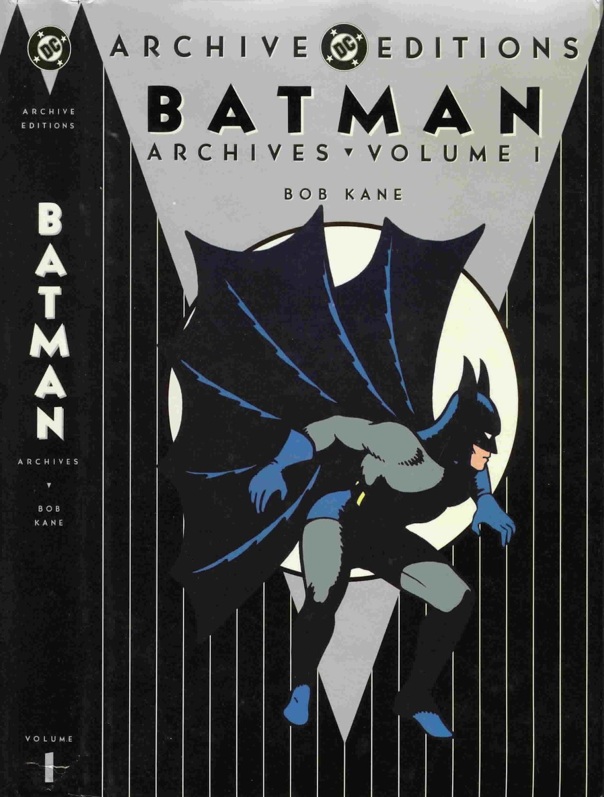 Batman Archives issue TPB_1_(Part_1) - Page 1