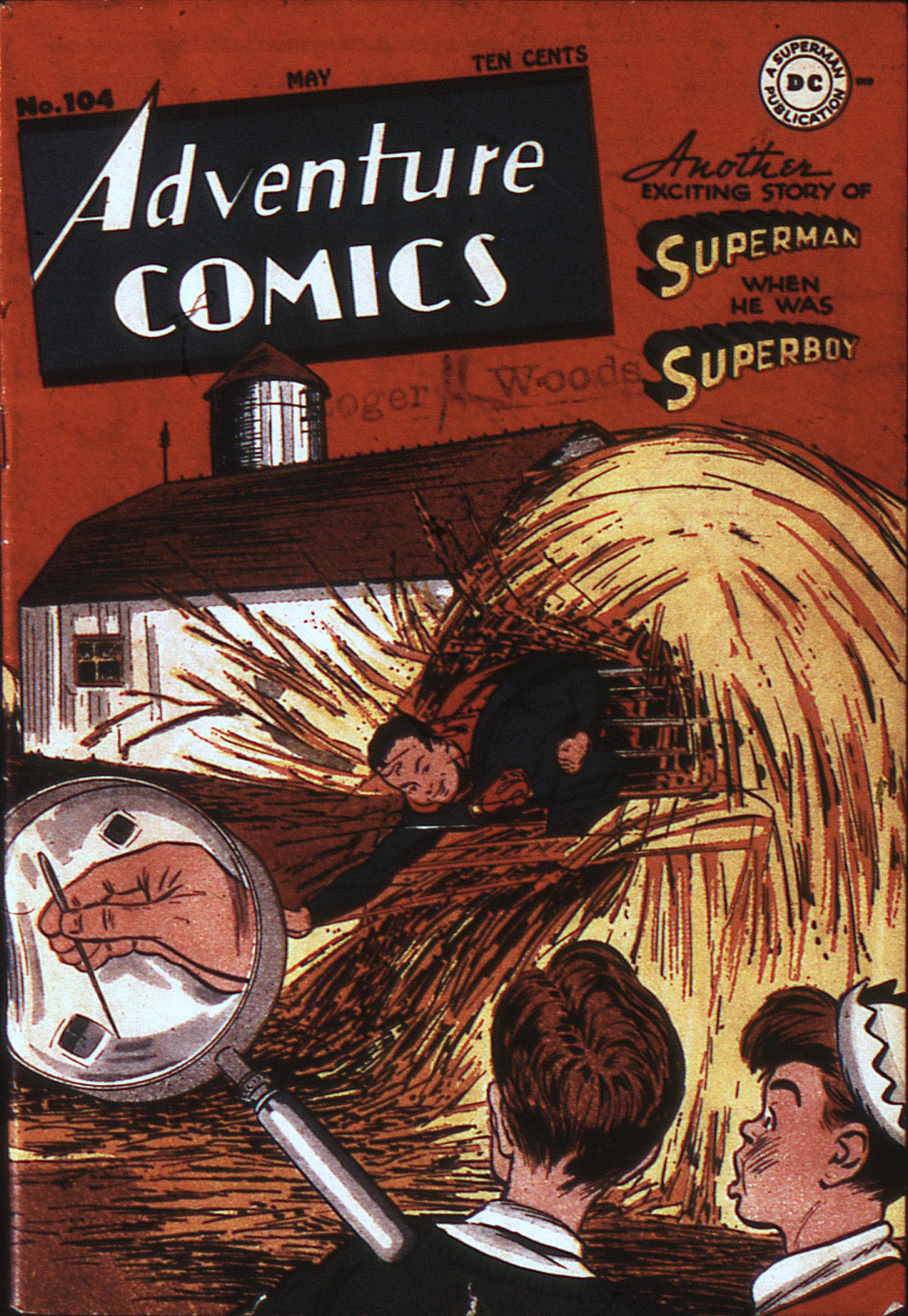 Read online Adventure Comics (1938) comic -  Issue #104 - 1