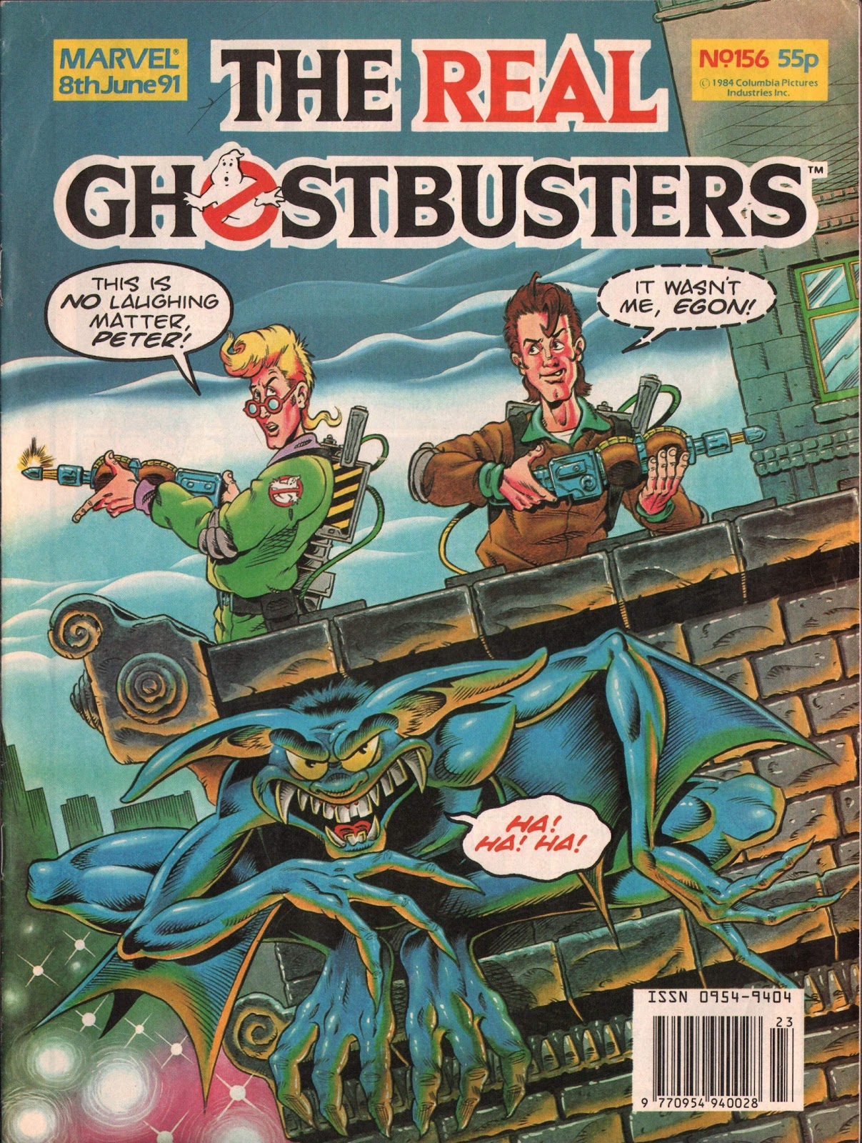 The Real Ghostbusters 156 Page 1
