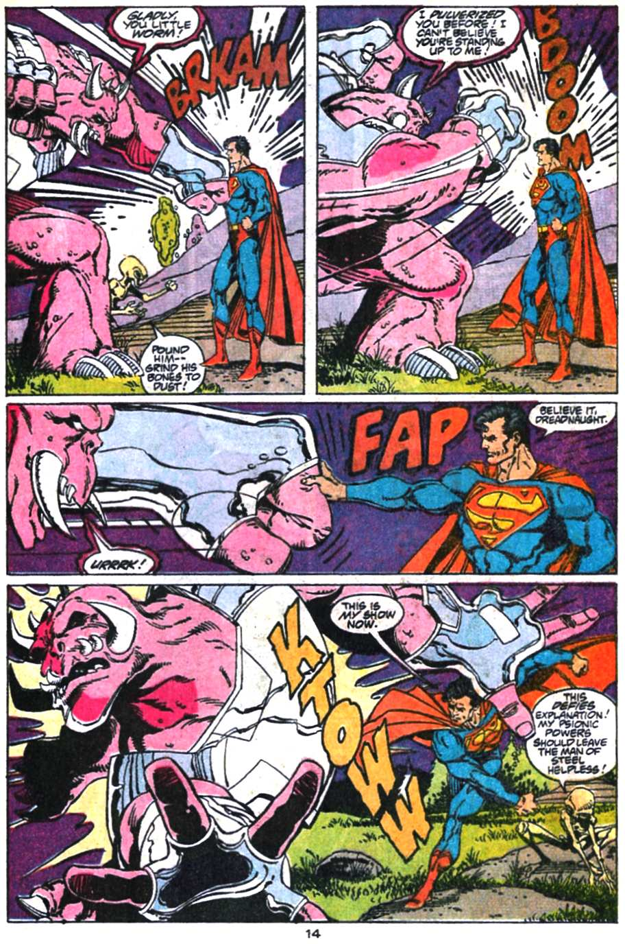 Read online Adventures of Superman (1987) comic -  Issue #469 - 15