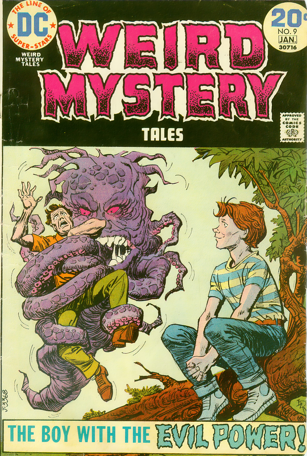 Weird Mystery Tales issue 9 - Page 1