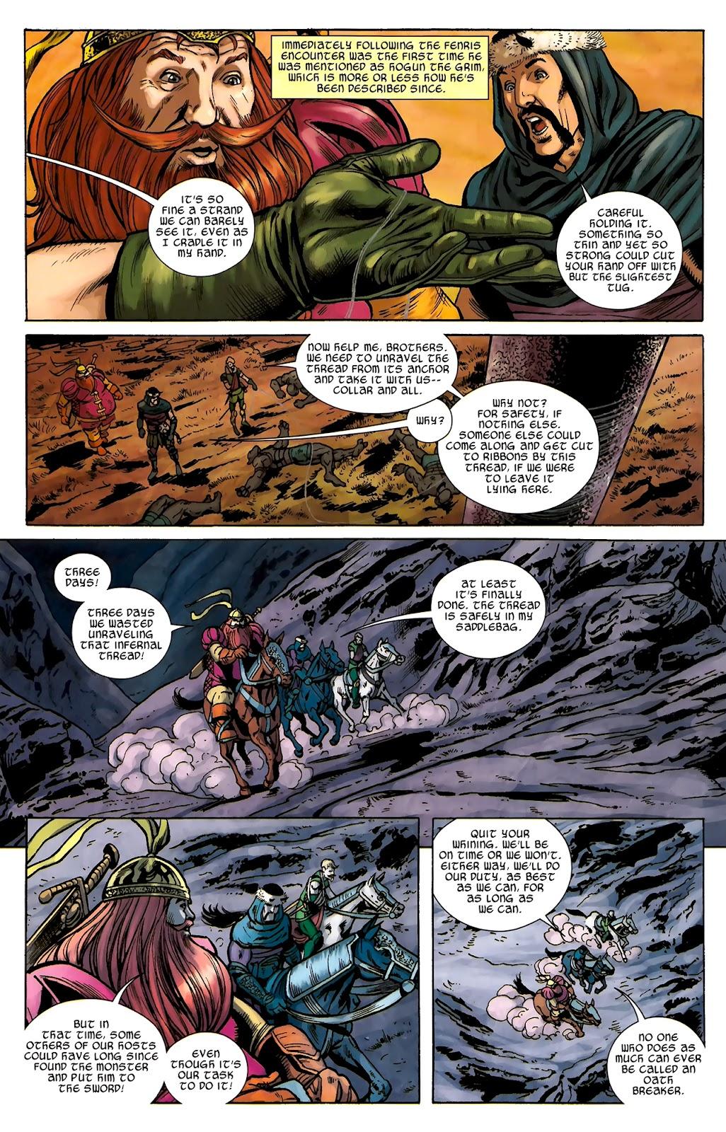 Warriors Three Issue #2 #2 - English 18
