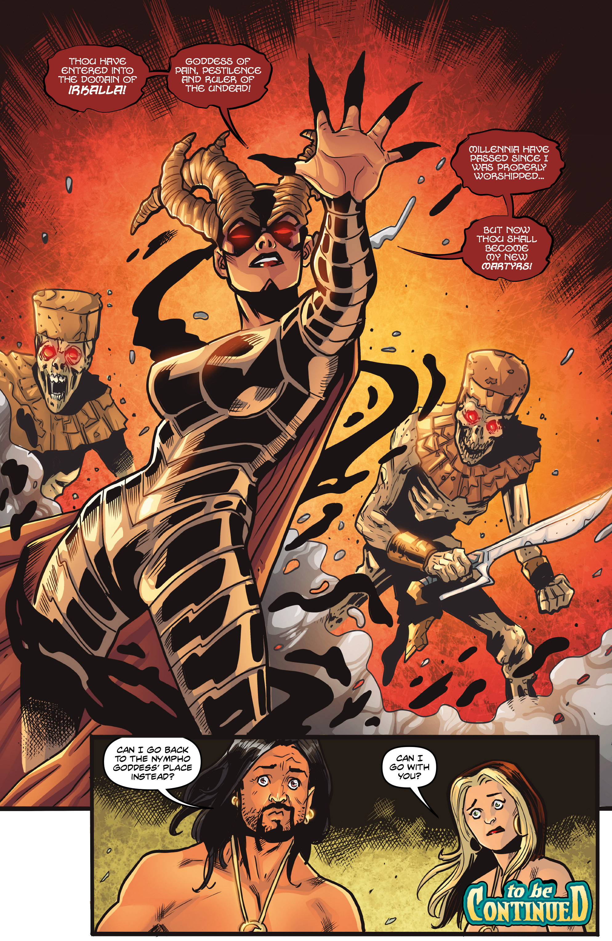 Read online Rogues!: The Burning Heart comic -  Issue #4 - 25
