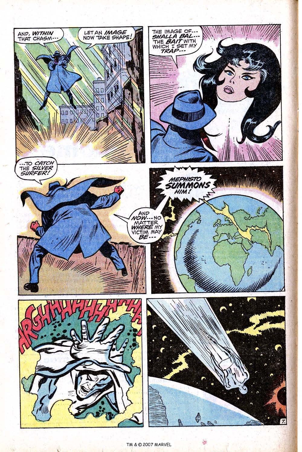 Read online Silver Surfer (1968) comic -  Issue #16 - 12