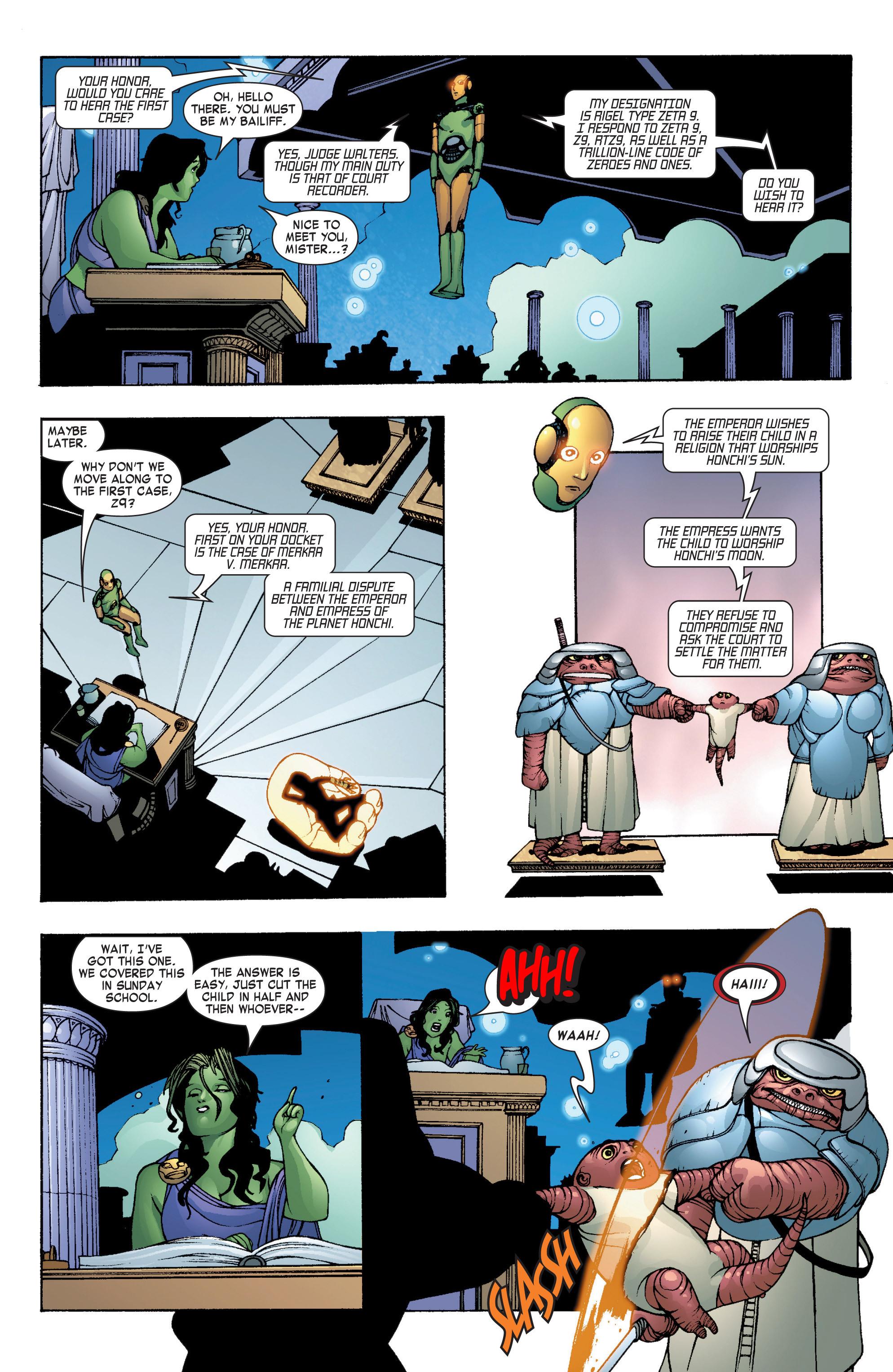 Read online She-Hulk (2004) comic -  Issue #7 - 16