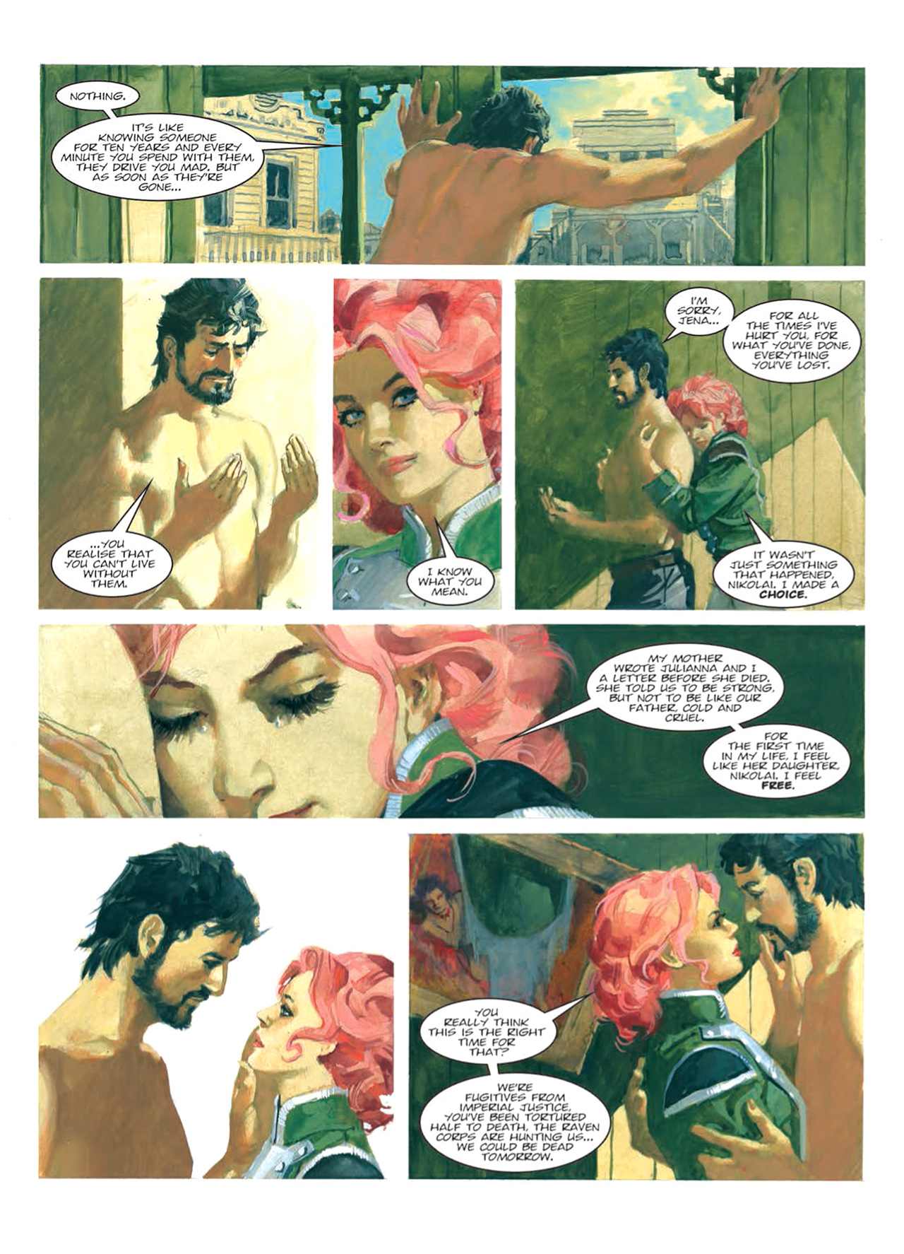 Read online Nikolai Dante comic -  Issue # TPB 9 - 111