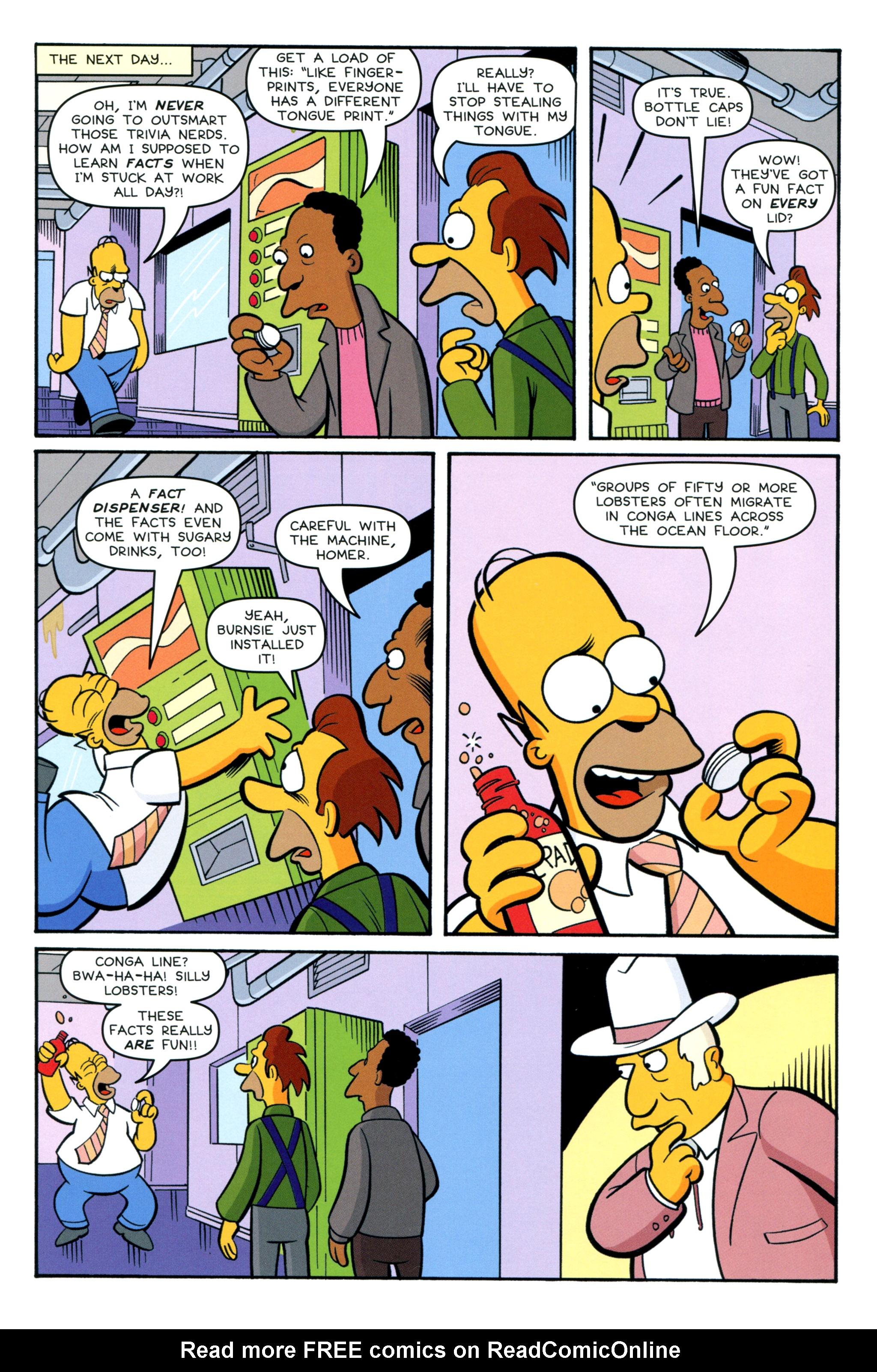 Read online Simpsons Comics comic -  Issue #212 - 11