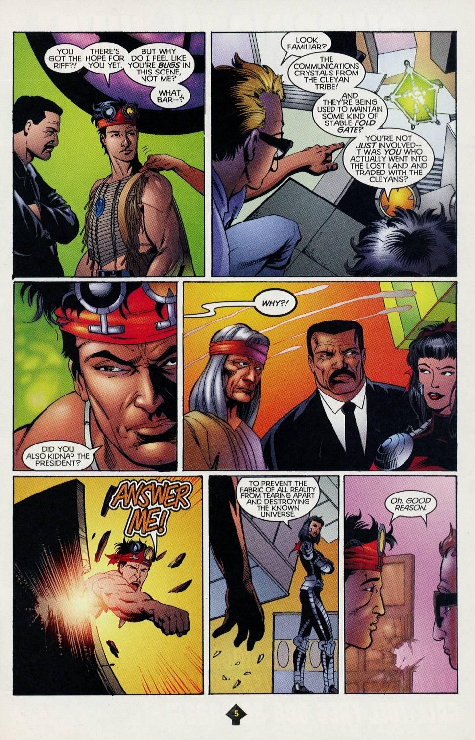 Read online Turok comic -  Issue #4 - 5