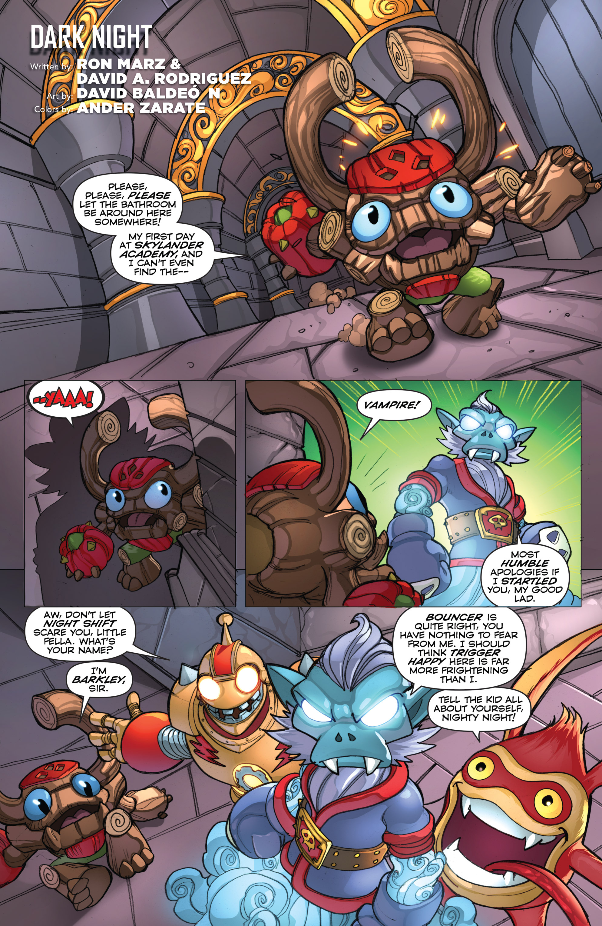 Read online Skylanders comic -  Issue #2 - 19