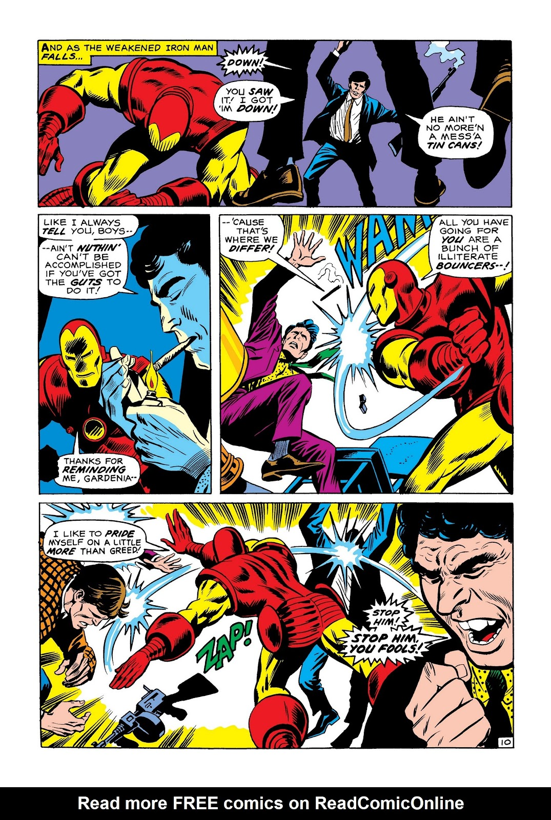 Read online Marvel Masterworks: The Invincible Iron Man comic -  Issue # TPB 7 (Part 3) - 79
