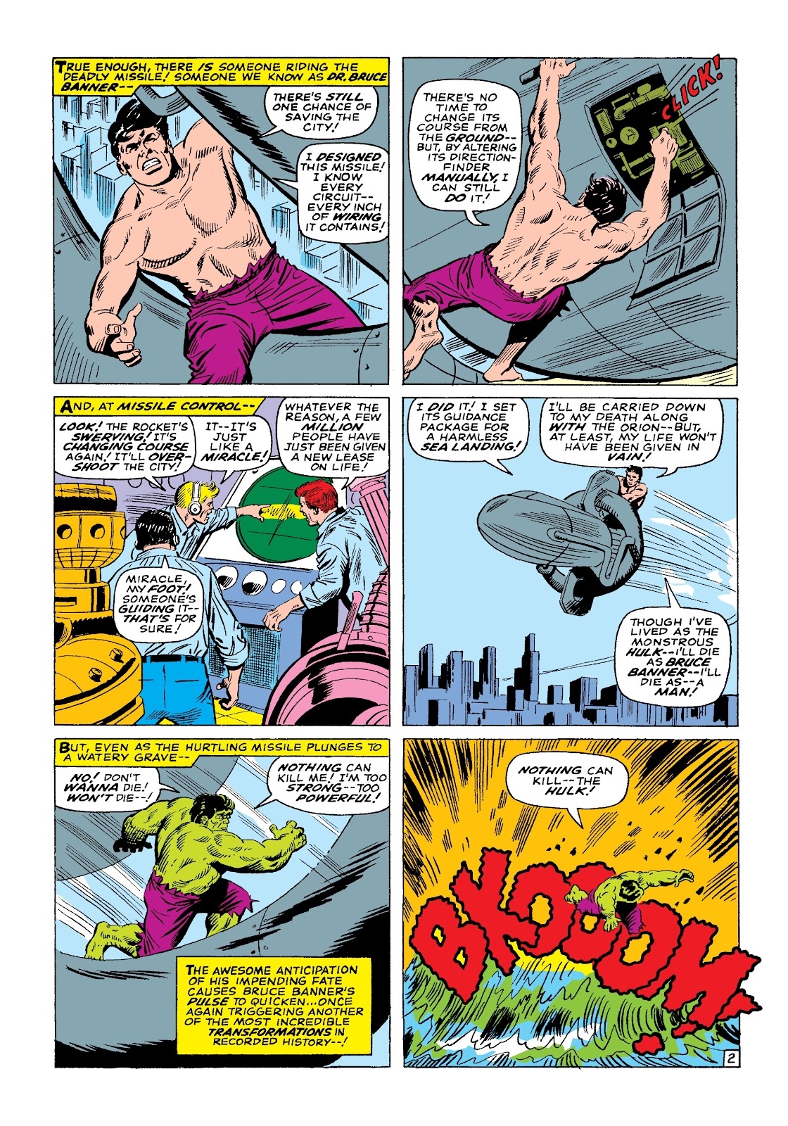 Read online Marvel Masterworks: The Incredible Hulk comic -  Issue # TPB 3 (Part 1) - 75