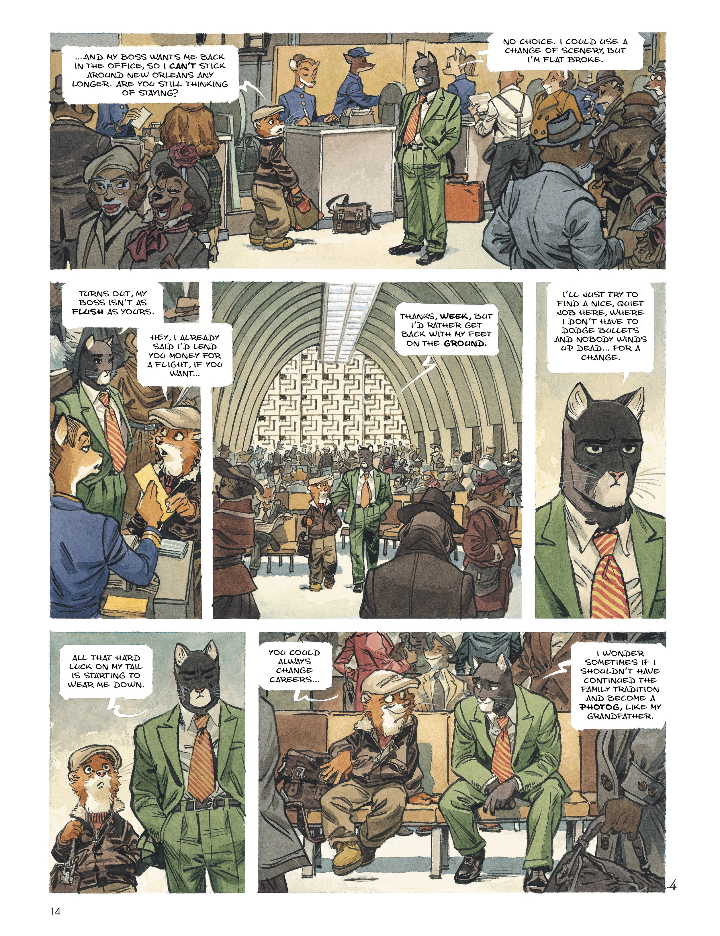 Read online Blacksad: Amarillo comic -  Issue # Full - 13