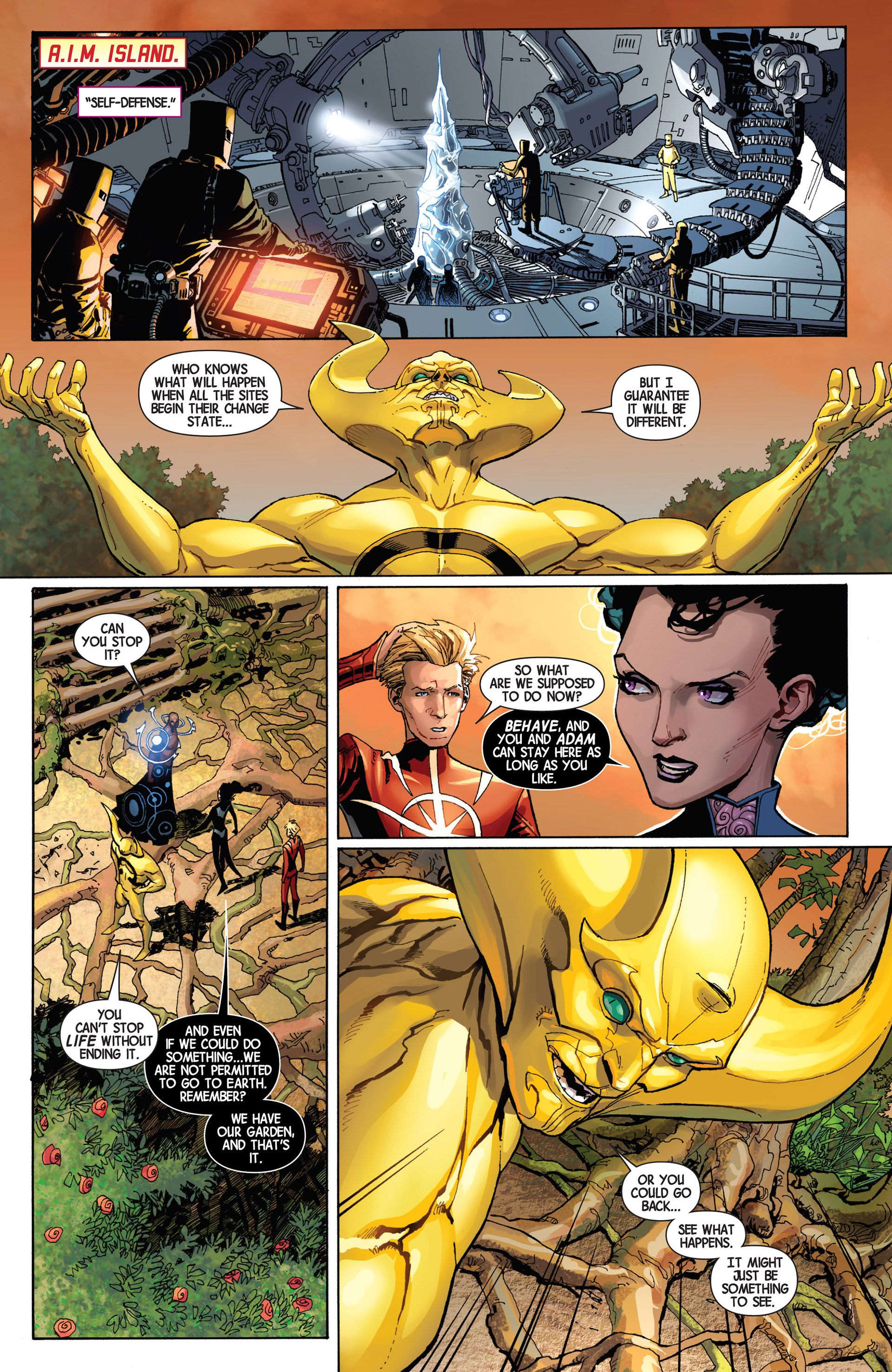 Read online Avengers (2013) comic -  Issue #9 - 10