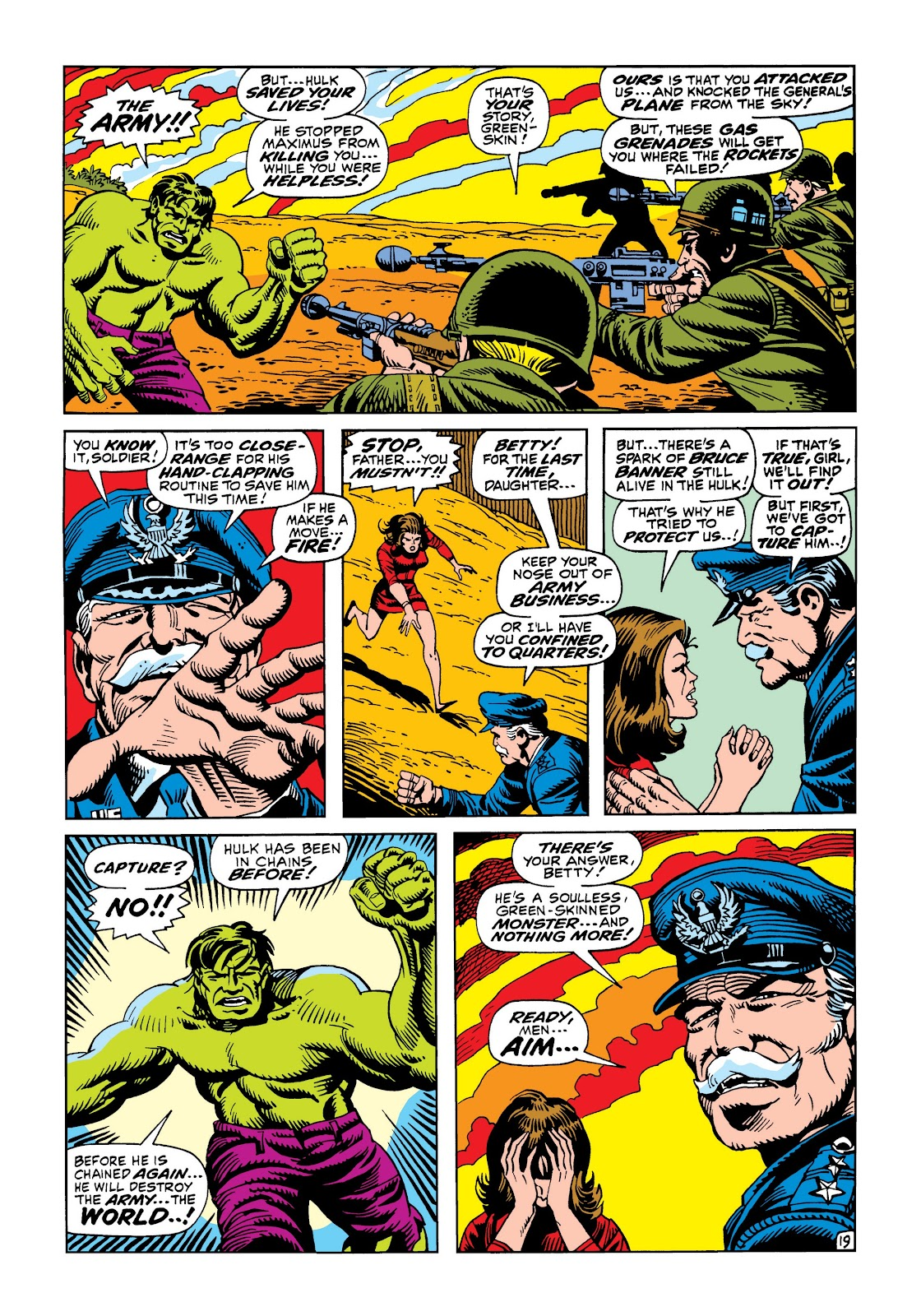 Read online Marvel Masterworks: The Incredible Hulk comic -  Issue # TPB 5 (Part 3) - 14