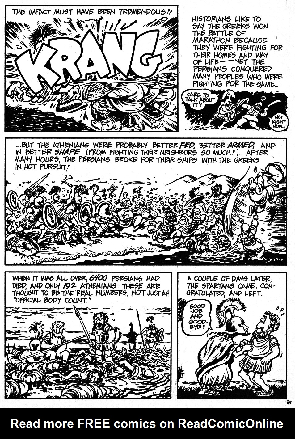Read online The Cartoon History of the Universe comic -  Issue #6 - 33