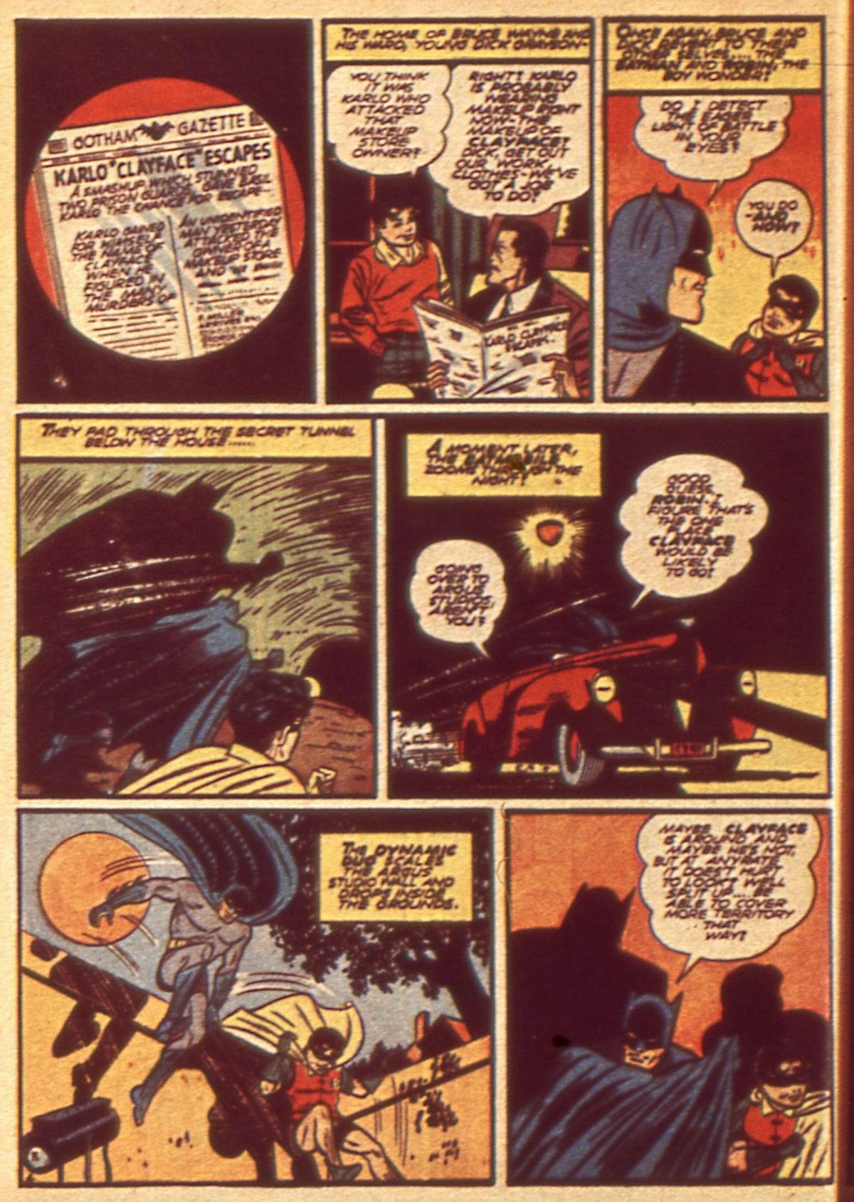 Read online Detective Comics (1937) comic -  Issue #49 - 6