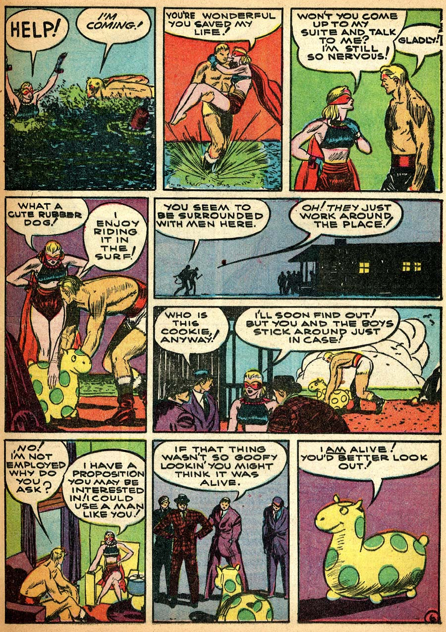 Blue Ribbon Comics (1939) issue 8 - Page 21