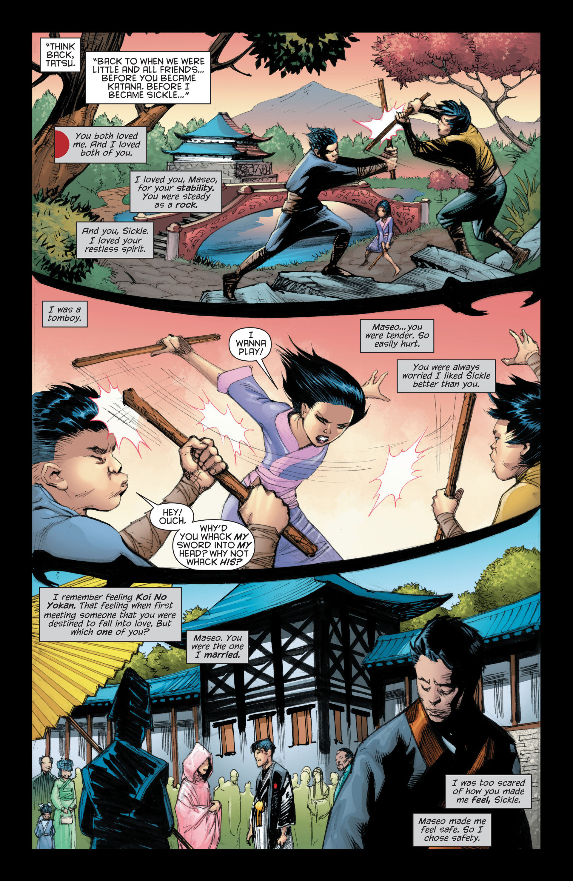 Read online Katana comic -  Issue #7 - 14