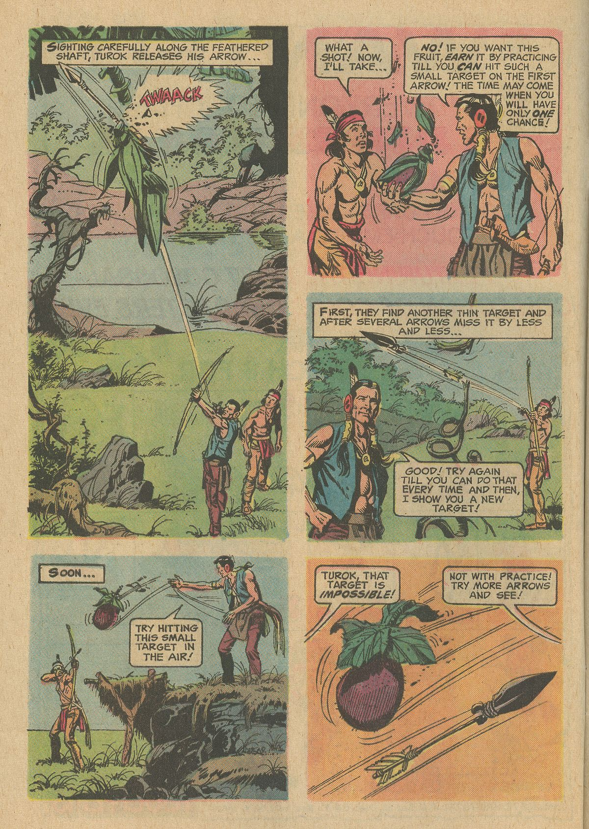 Read online Turok, Son of Stone comic -  Issue #80 - 8