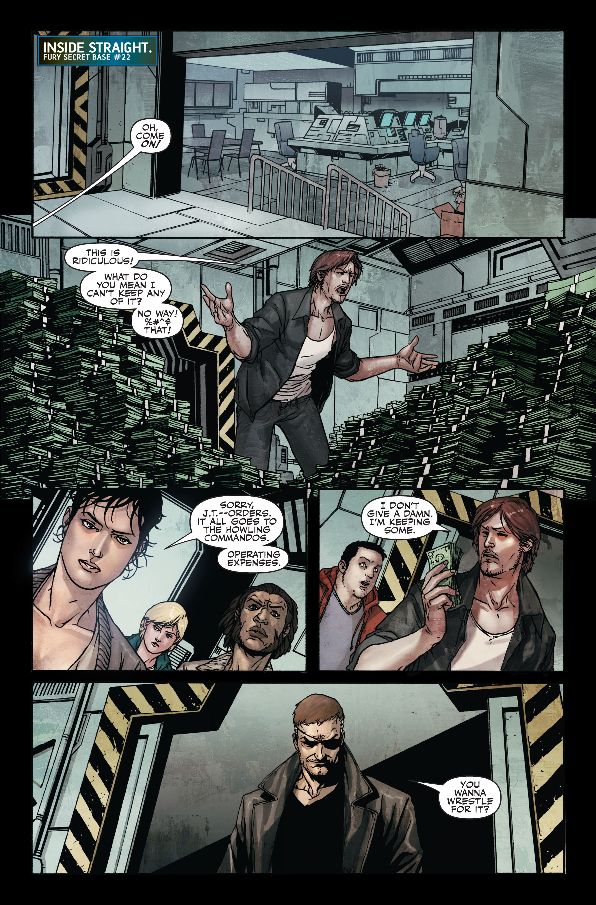 Read online Secret Warriors comic -  Issue #7 - 15