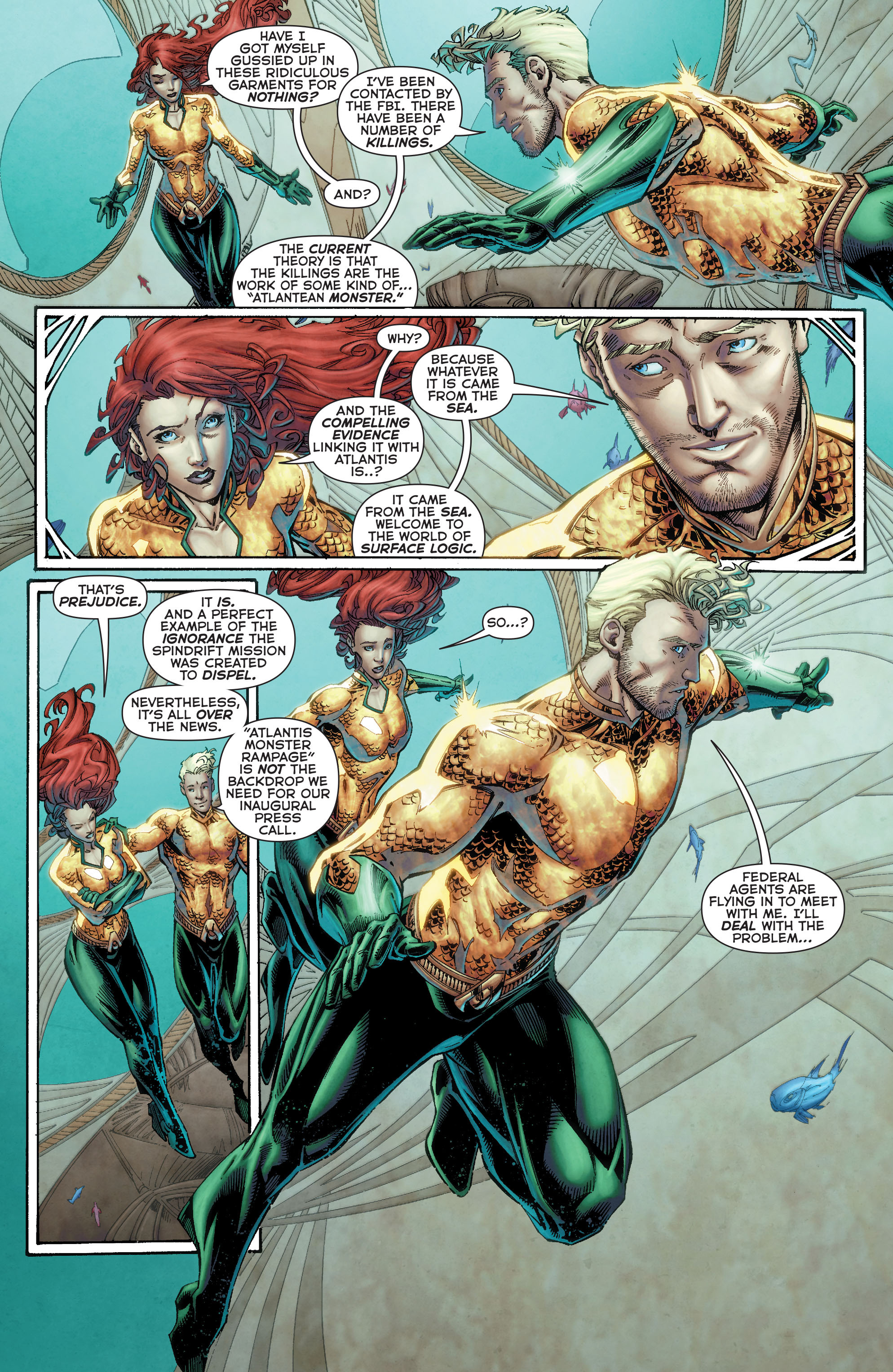 Read online Aquaman (2011) comic -  Issue #50 - 10
