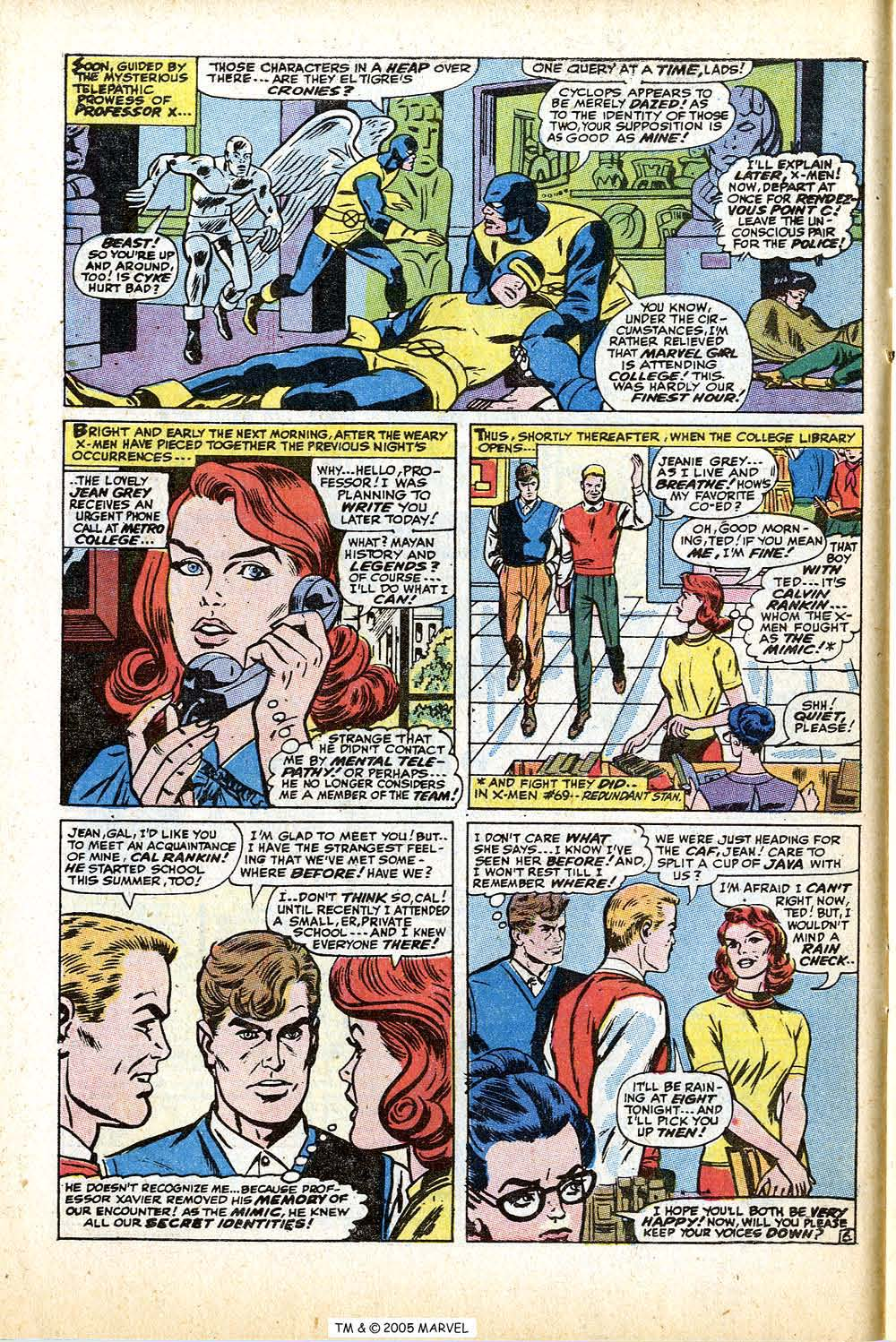 Read online Uncanny X-Men (1963) comic -  Issue #74 - 10