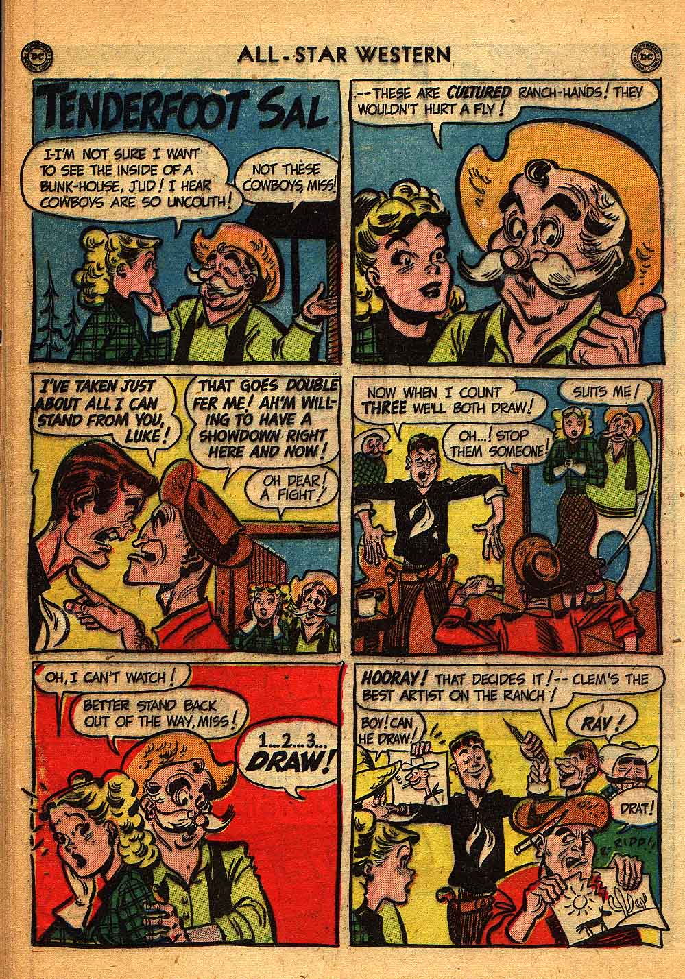 Read online All-Star Western (1951) comic -  Issue #58 - 34