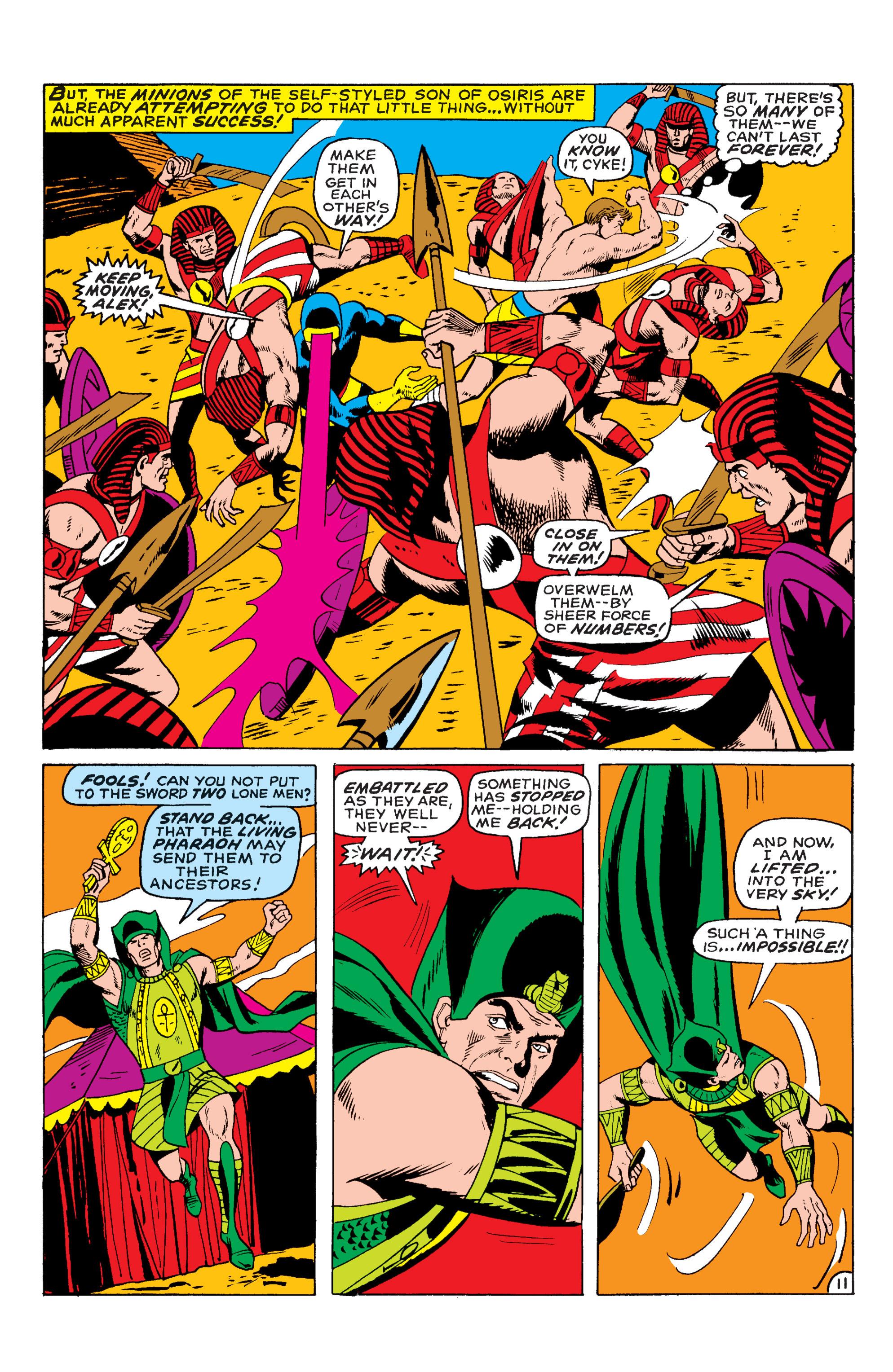 Uncanny X-Men (1963) 55 Page 11