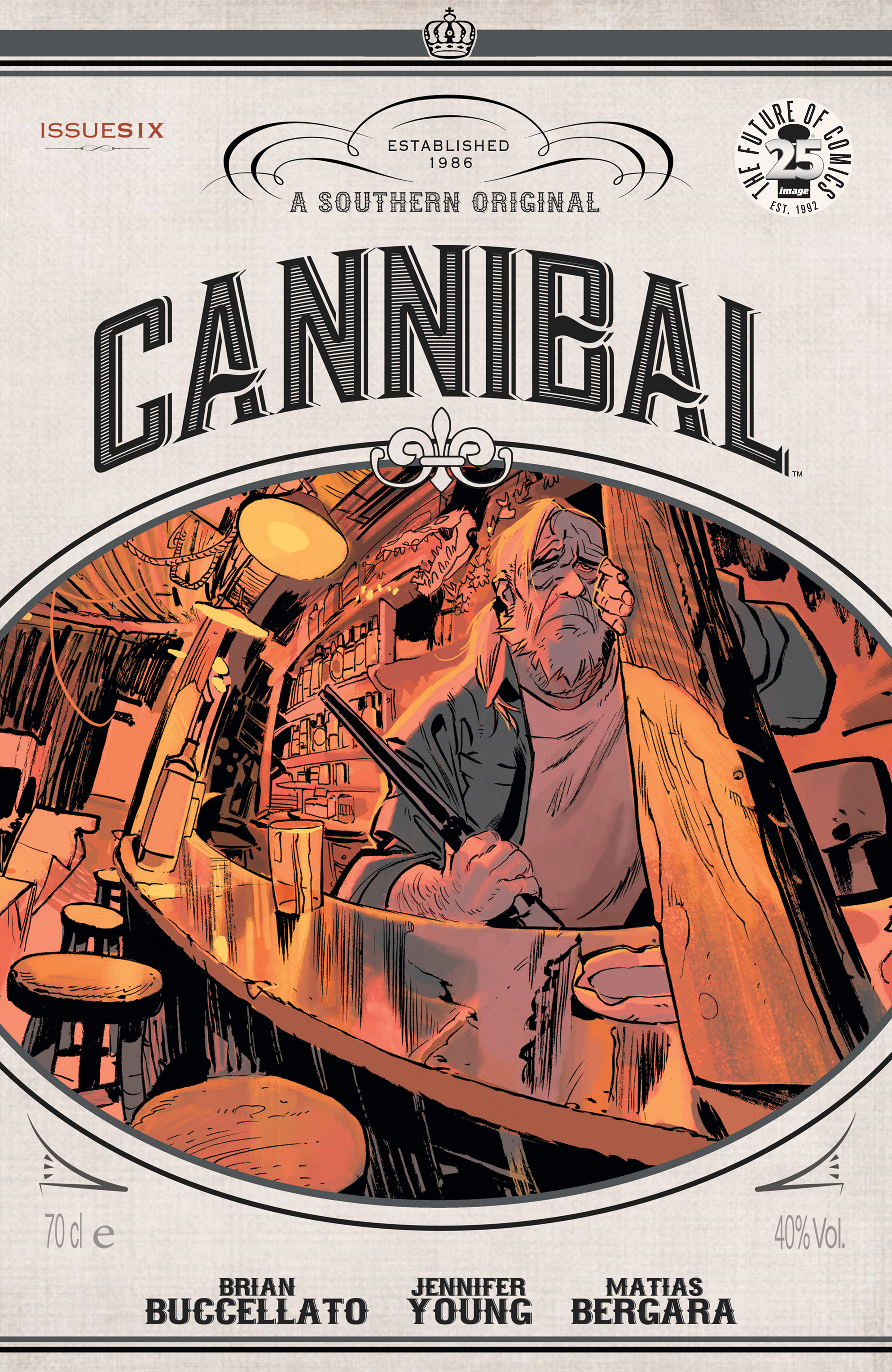 Read online Cannibal comic -  Issue #6 - 1