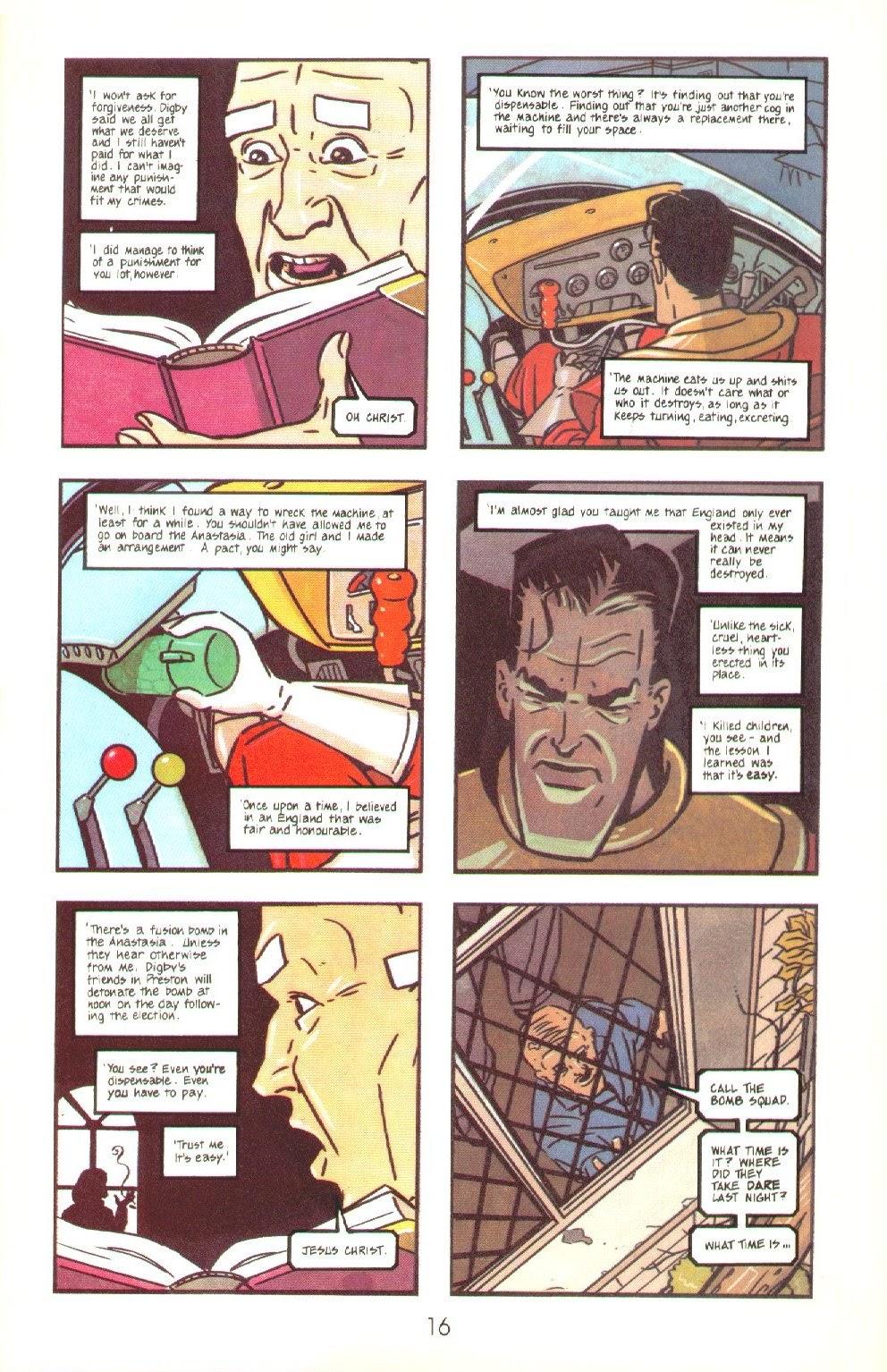 Read online Dare comic -  Issue #4 - 18