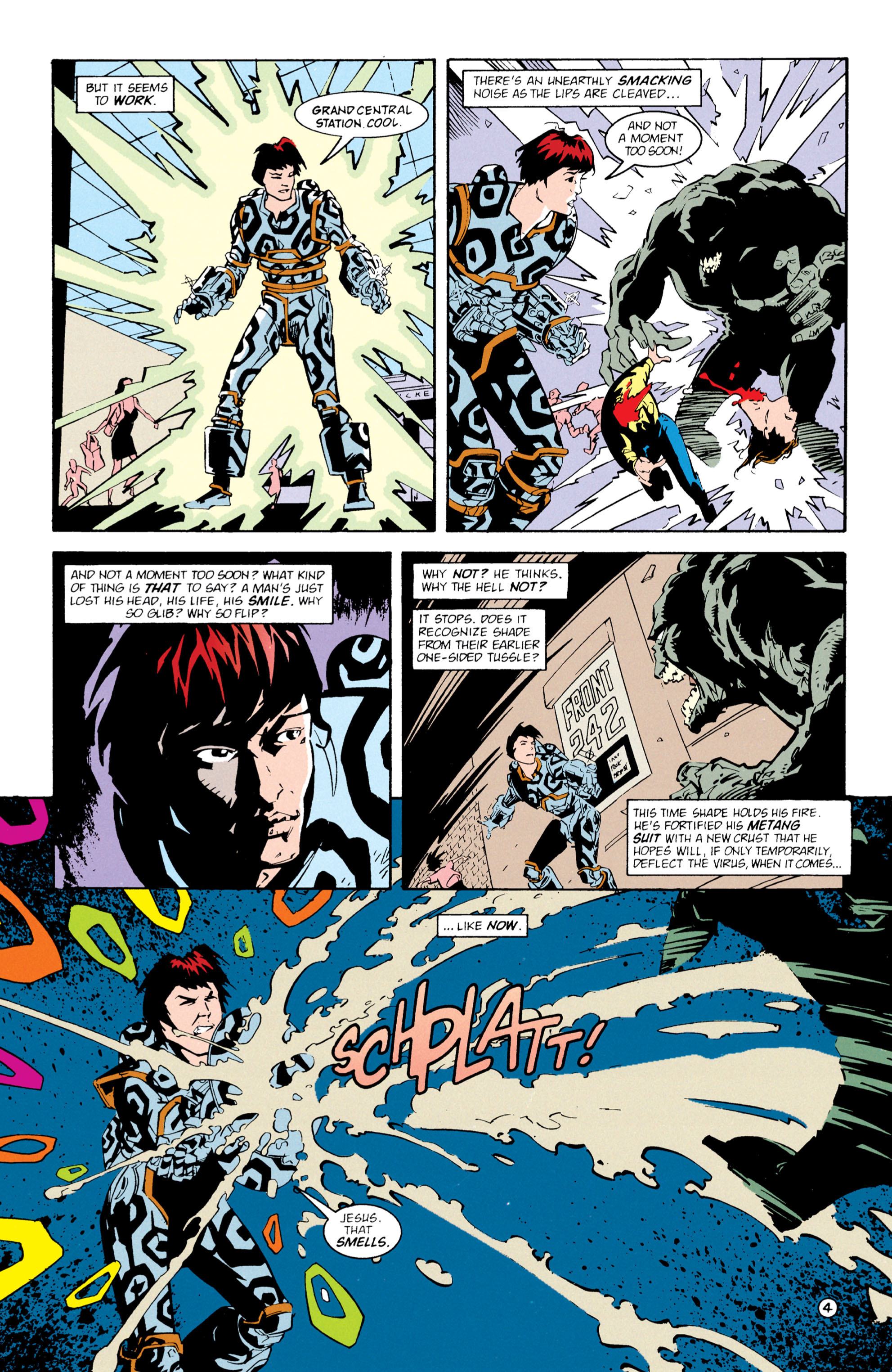Read online Shade, the Changing Man comic -  Issue #61 - 5