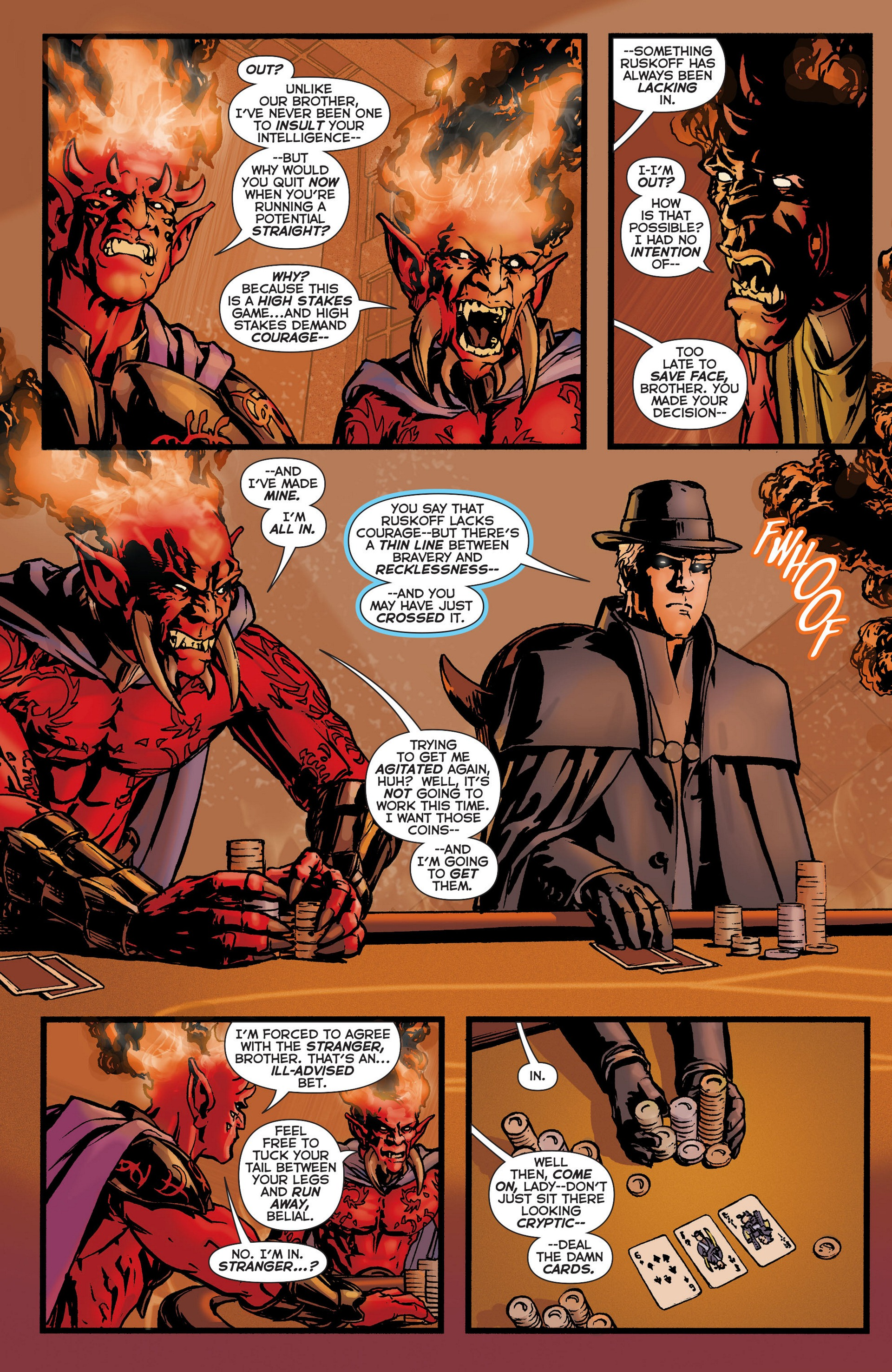 Read online Trinity of Sin: The Phantom Stranger comic -  Issue #6 - 14