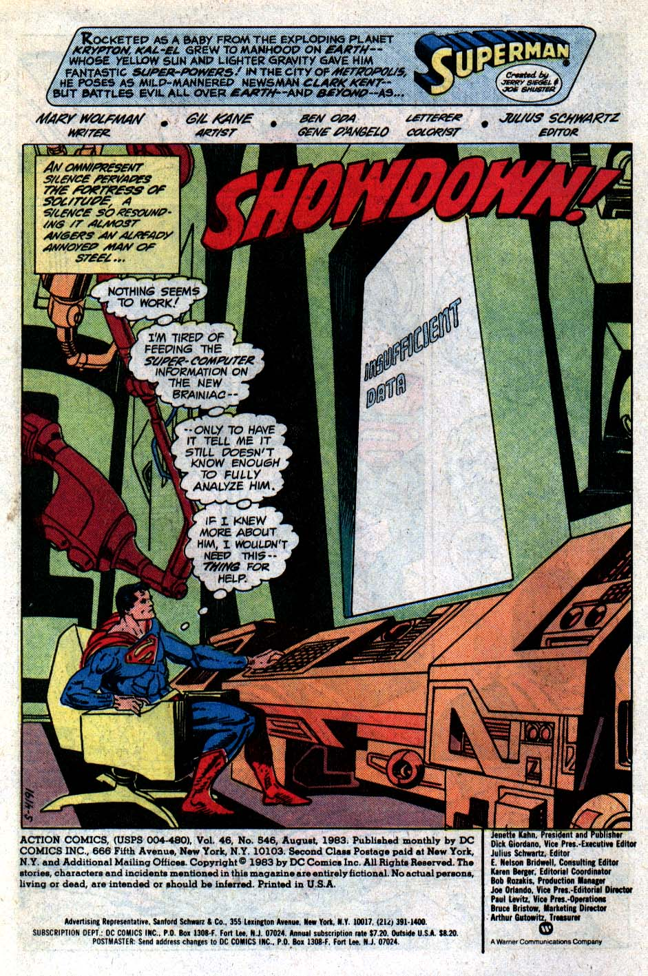 Read online Action Comics (1938) comic -  Issue #546 - 2
