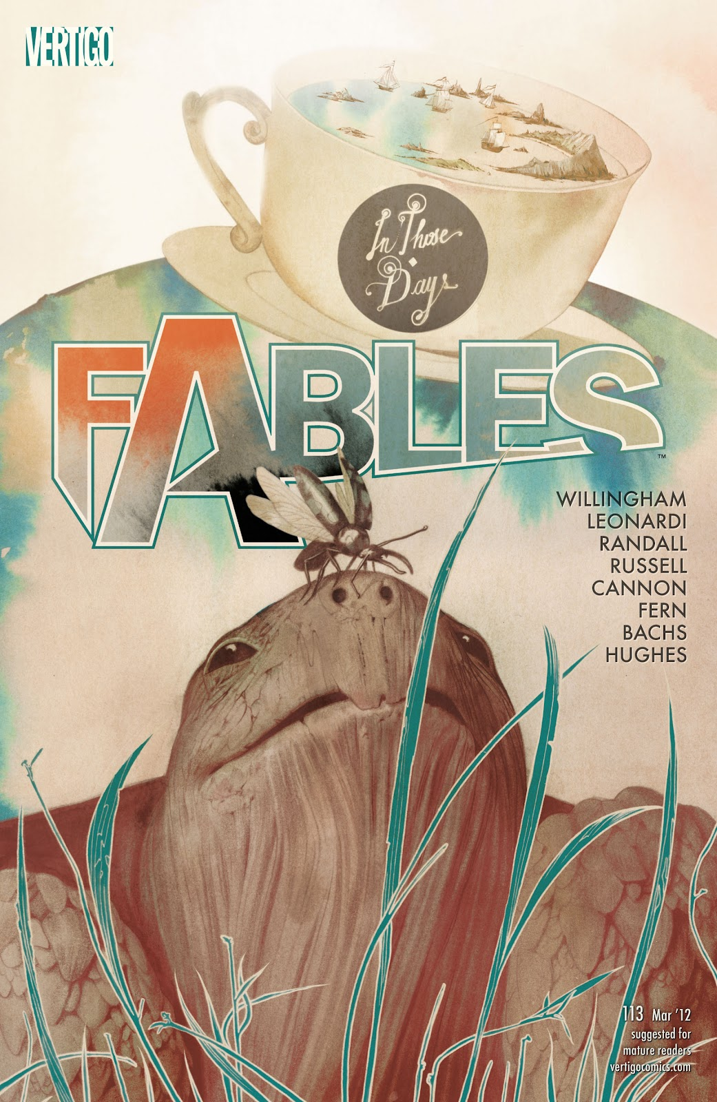 Fables issue 113 - Page 1