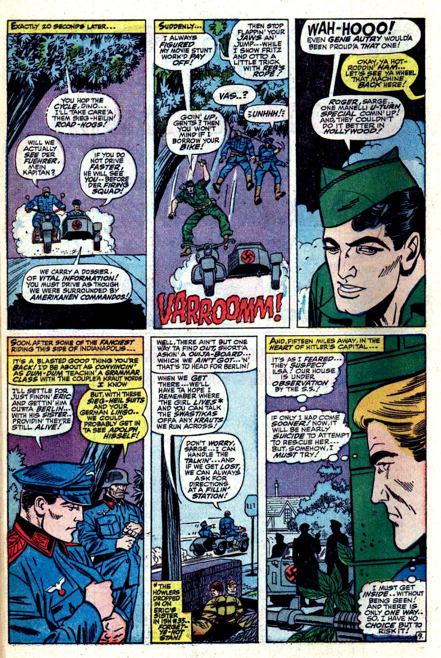 Read online Sgt. Fury comic -  Issue #42 - 14