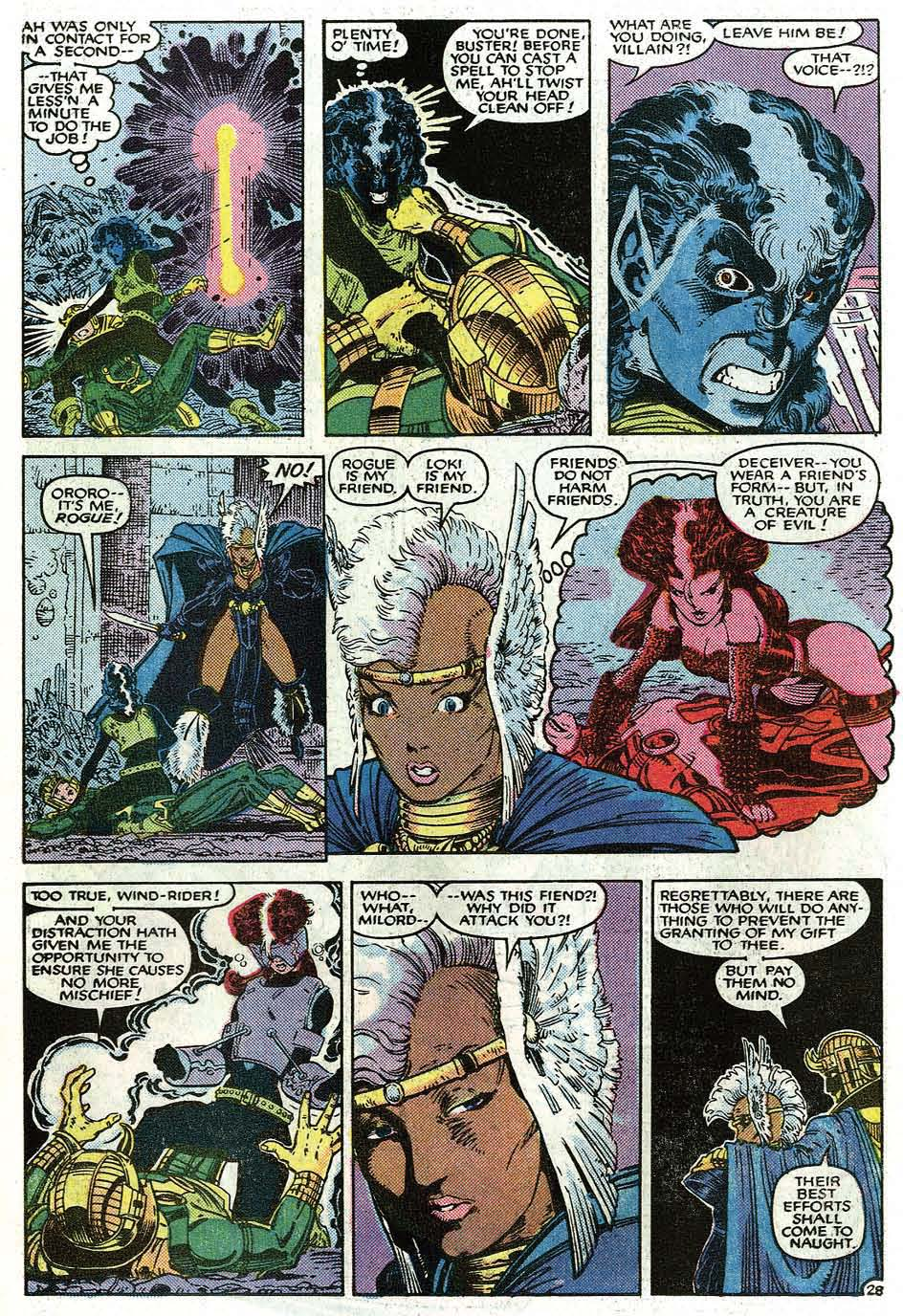 Uncanny X-Men (1963) issue _Annual_9 - Page 30