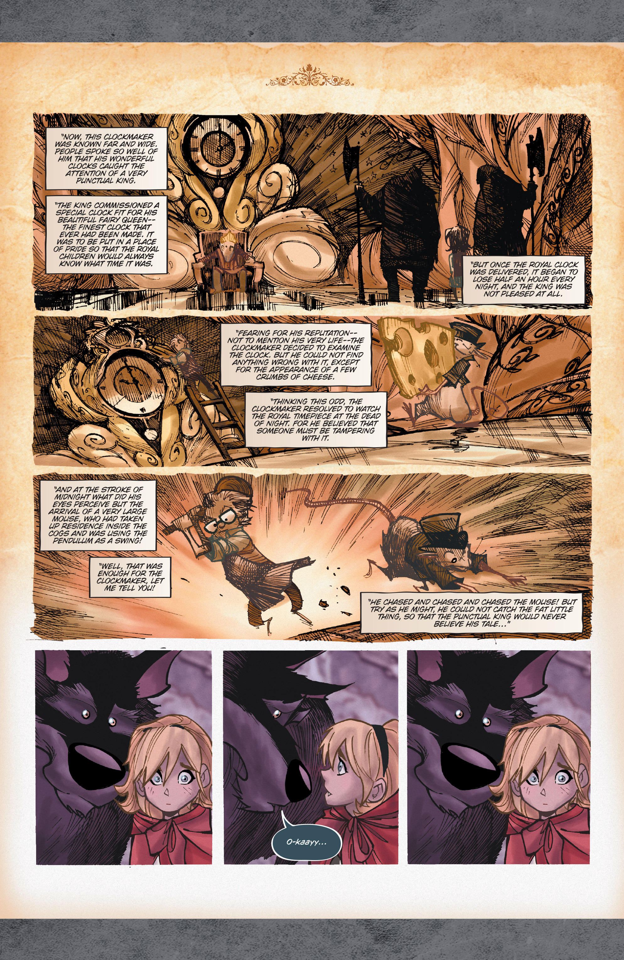 Read online Fairy Quest: Outcasts comic -  Issue #2 - 7