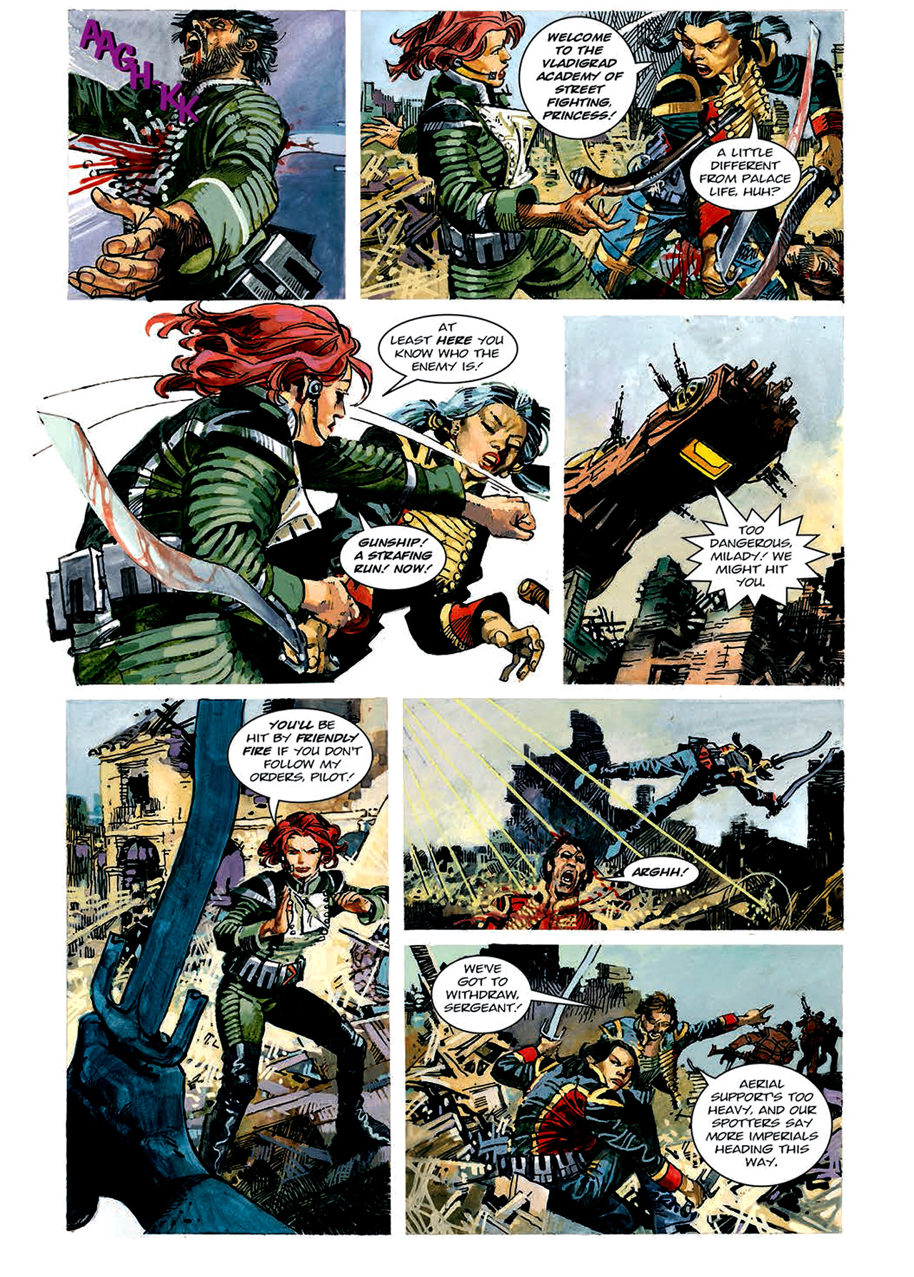Read online Nikolai Dante comic -  Issue # TPB 4 - 57