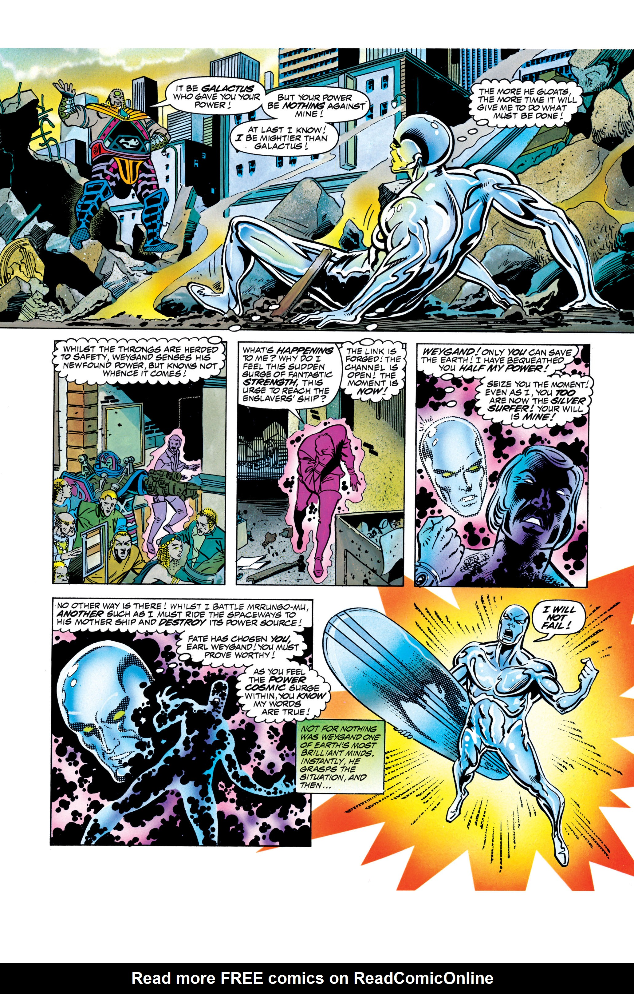 Read online Silver Surfer: Parable comic -  Issue # TPB - 115