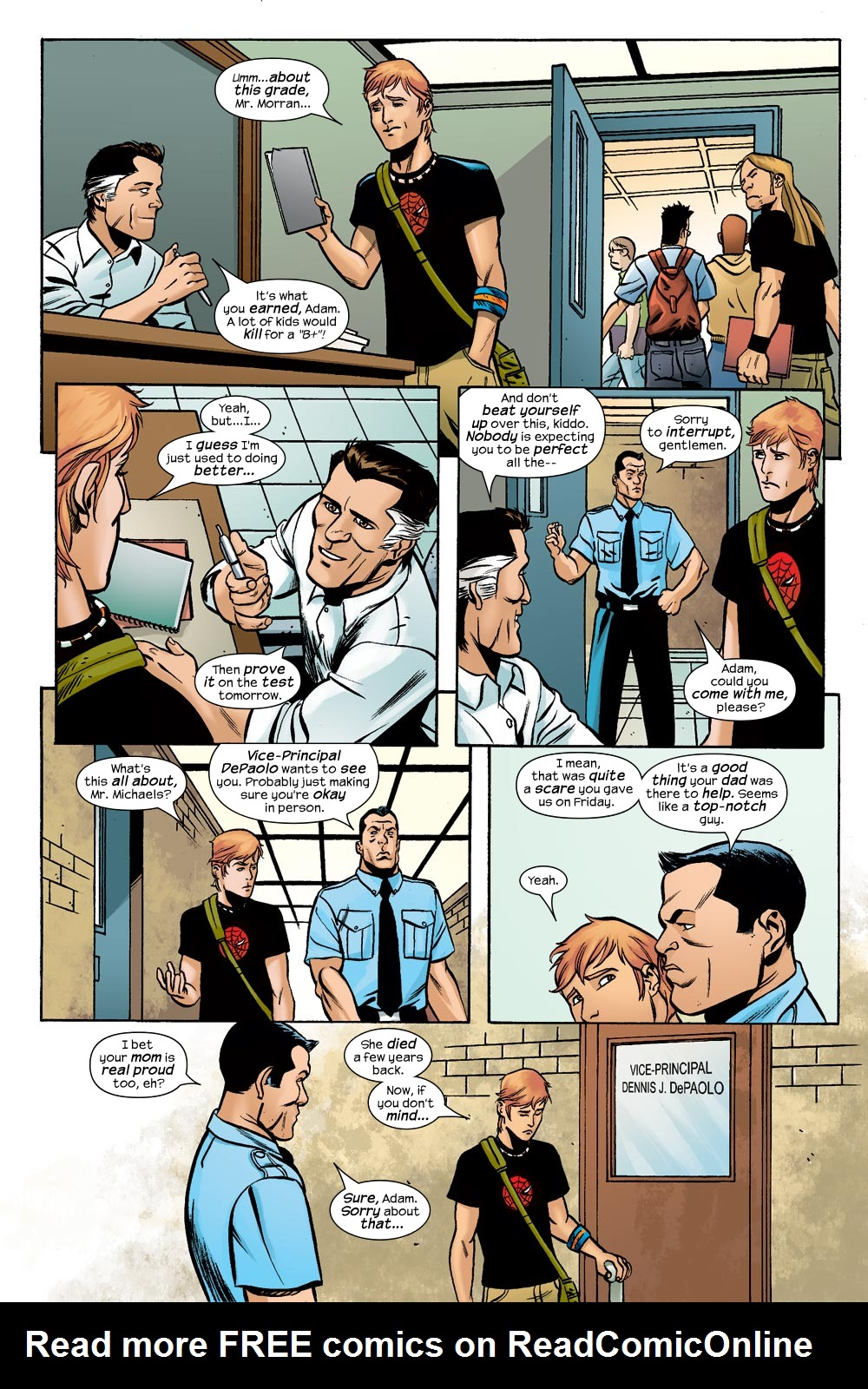 Read online Machine Teen comic -  Issue #1 - 15