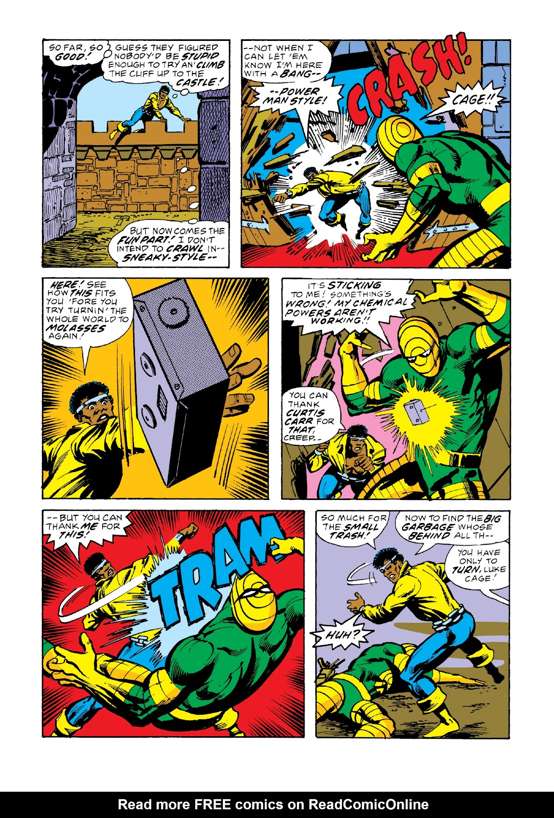 Read online Marvel Masterworks: Luke Cage, Power Man comic -  Issue # TPB 3 (Part 2) - 67