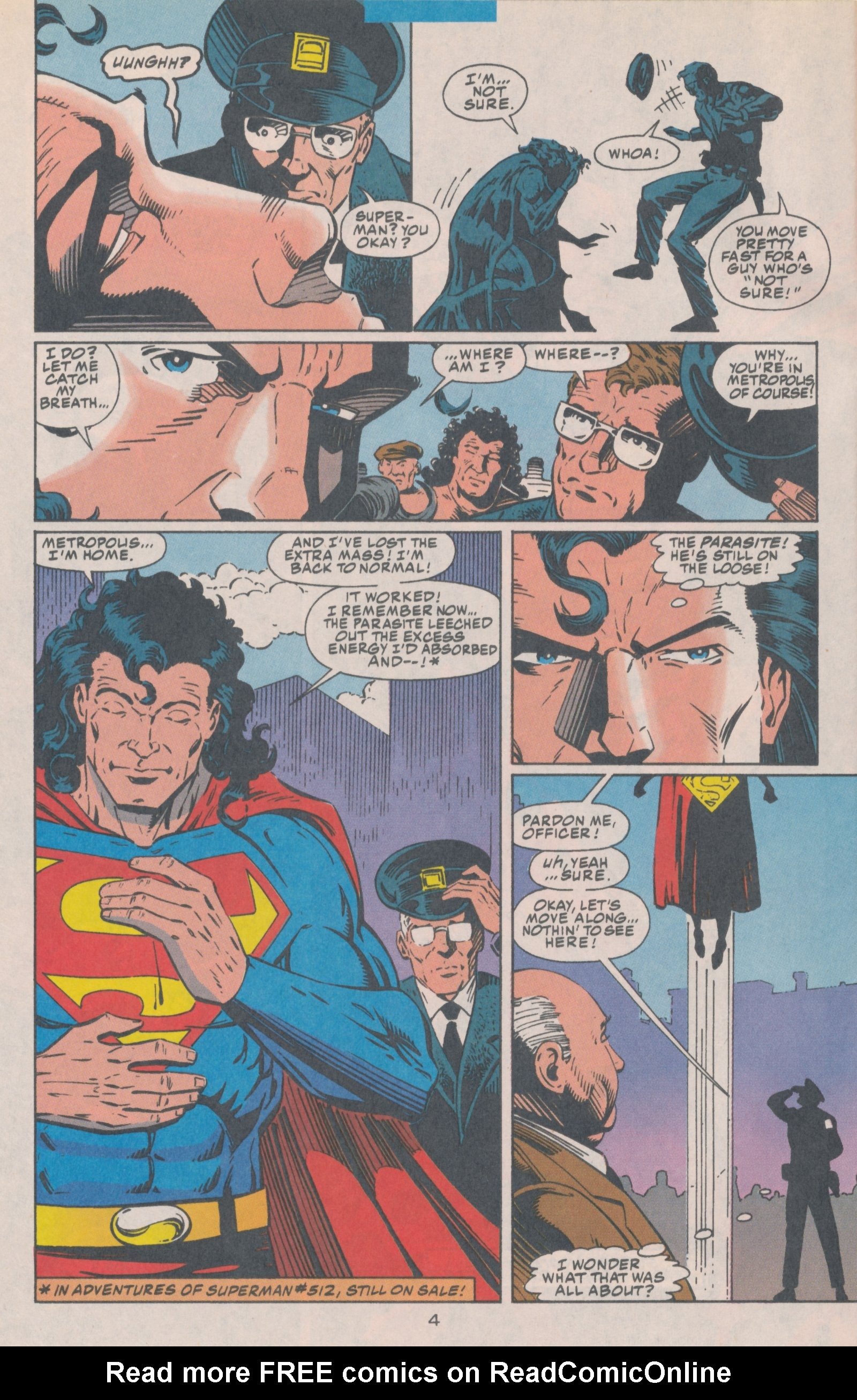 Read online Action Comics (1938) comic -  Issue #699 - 5