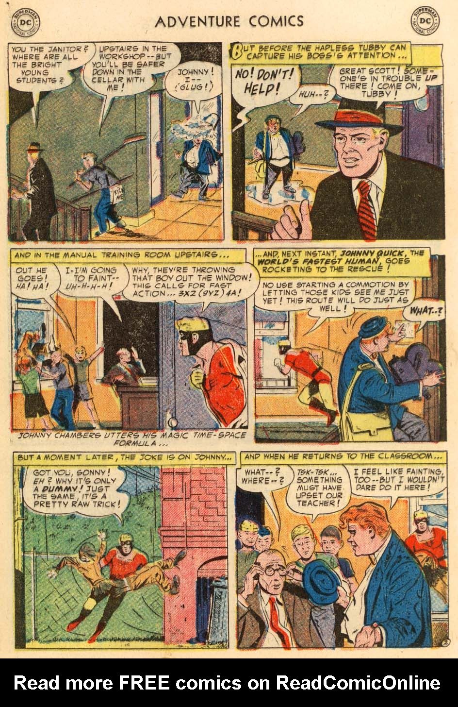 Read online Adventure Comics (1938) comic -  Issue #195 - 26
