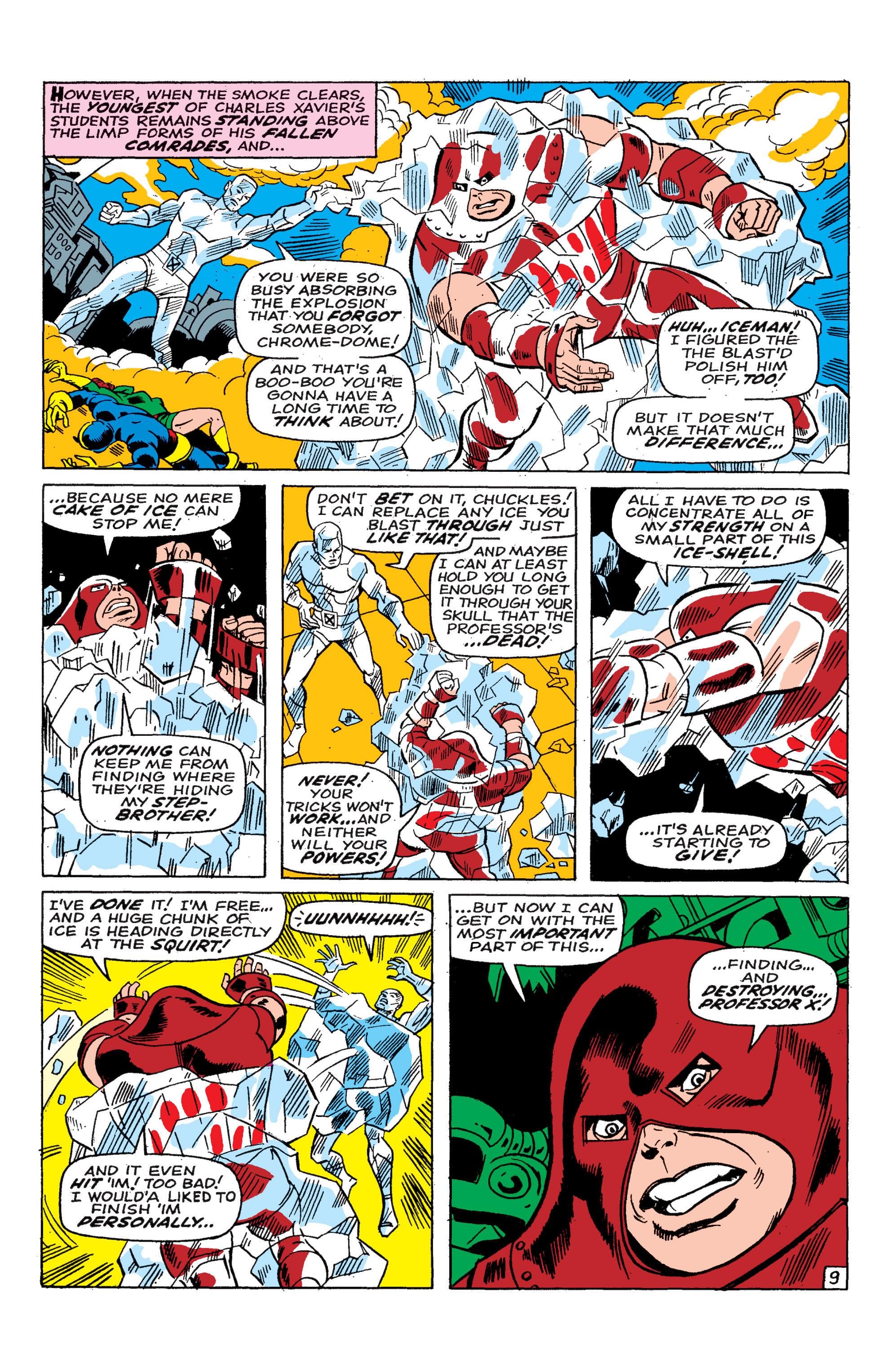 Read online Uncanny X-Men (1963) comic -  Issue #46 - 10