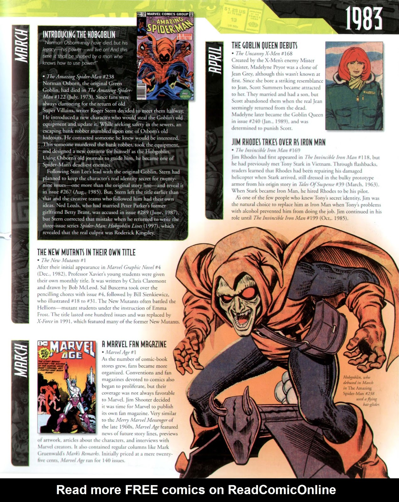 Read online Marvel Chronicle comic -  Issue # TPB (Part 3) - 10