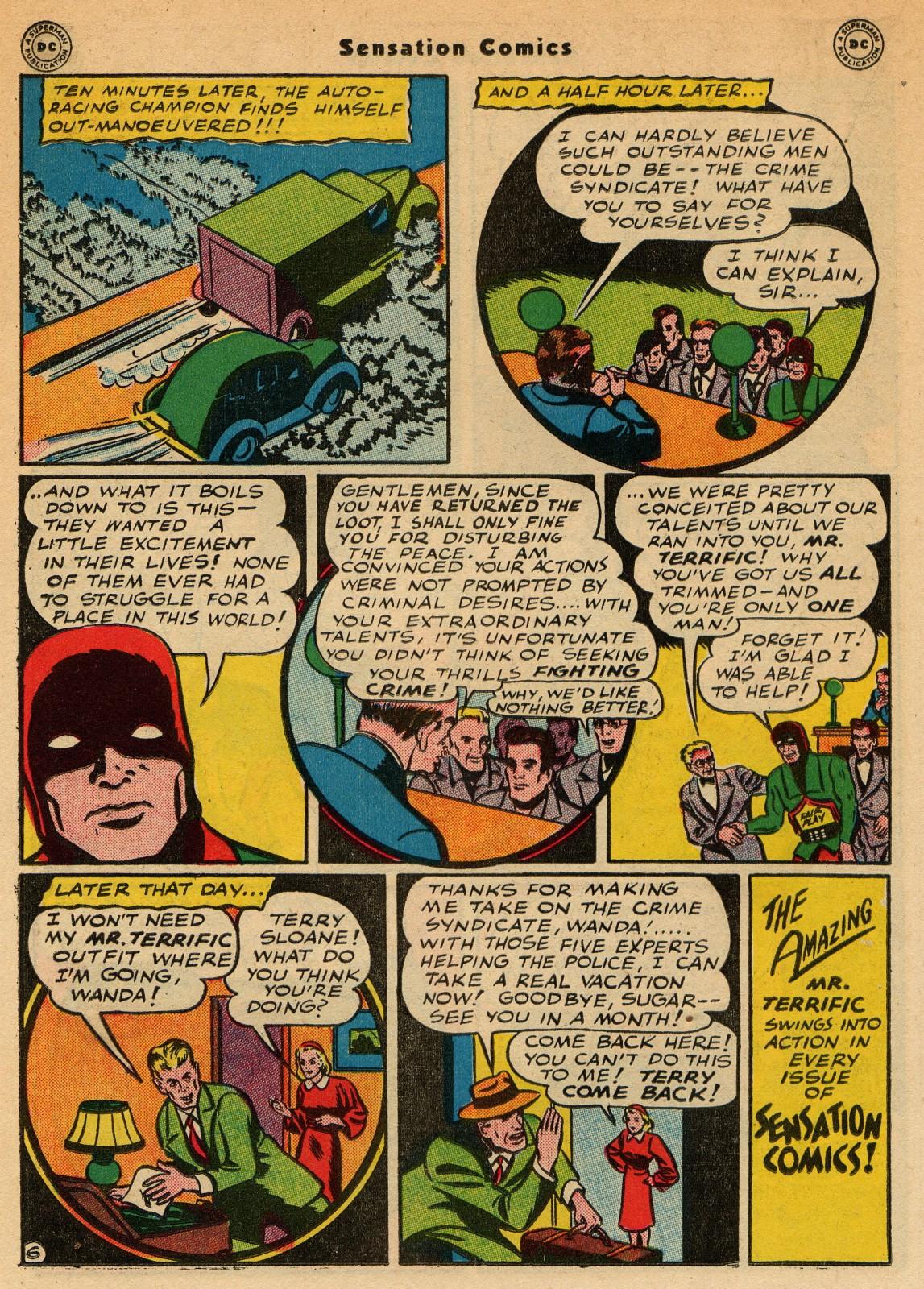 Read online Sensation (Mystery) Comics comic -  Issue #51 - 30