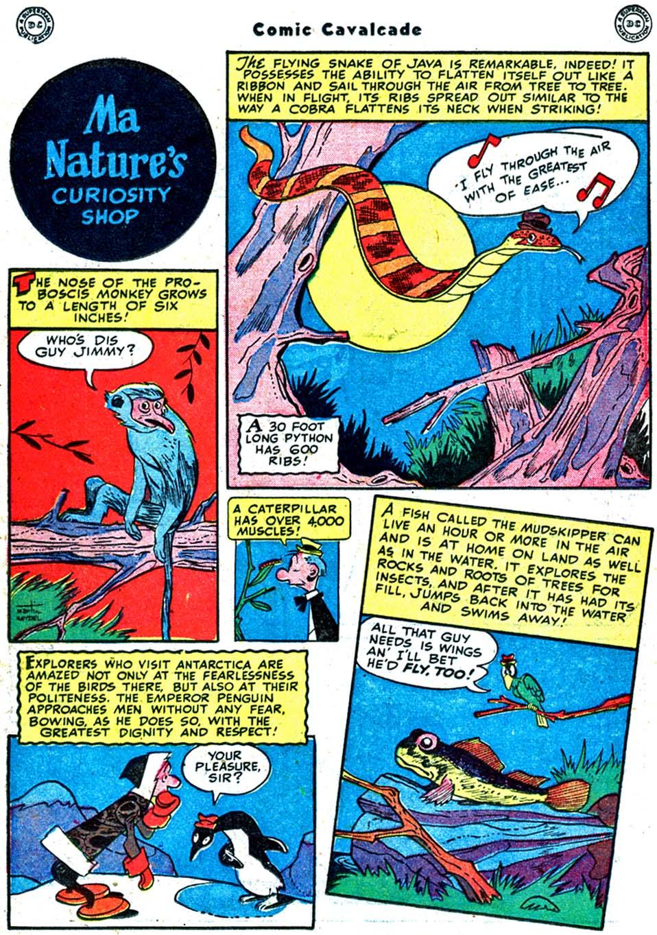 Comic Cavalcade issue 32 - Page 62